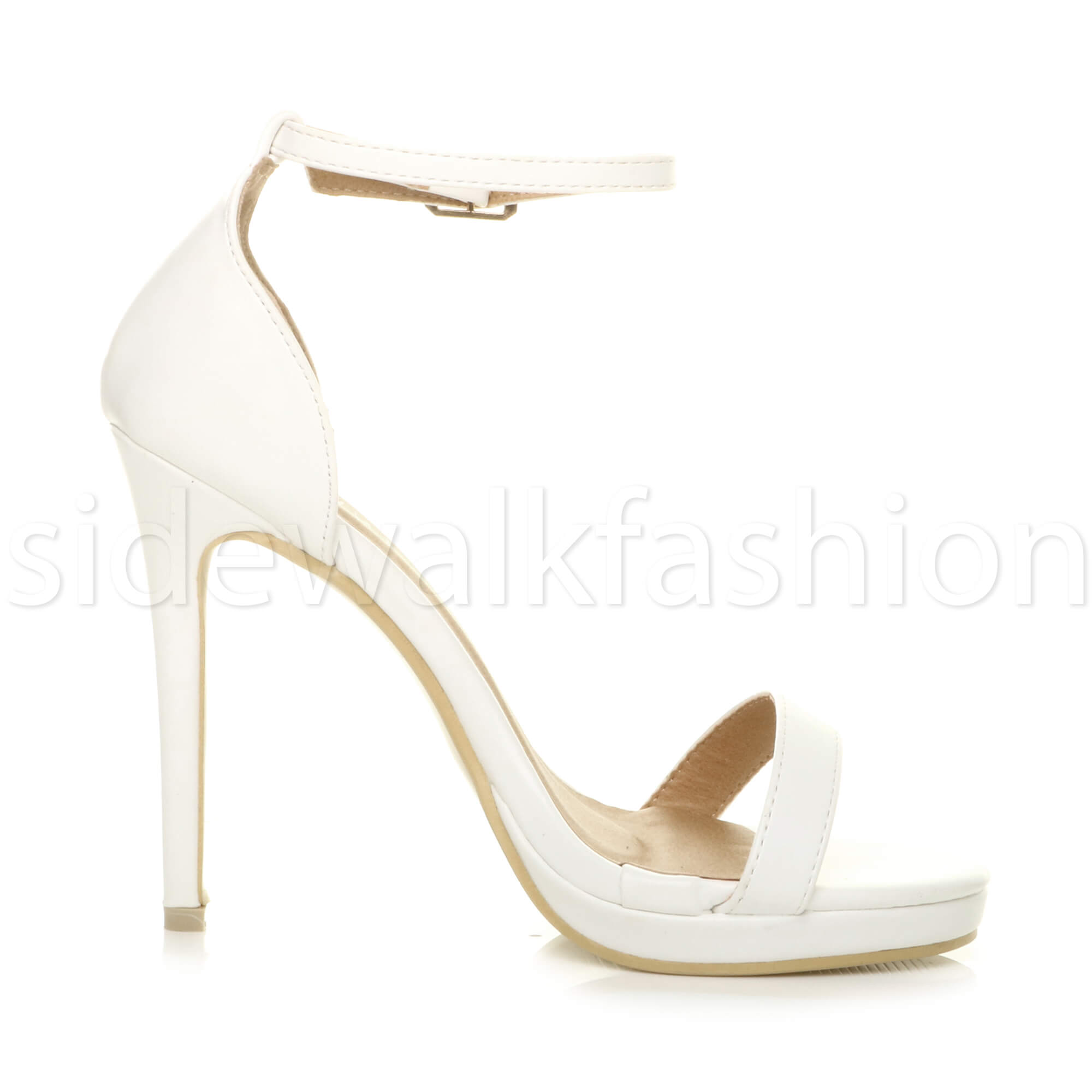 Womens-ladies-high-heel-barely-there-strappy-party-peep-toe-shoes-sandals-size thumbnail 135