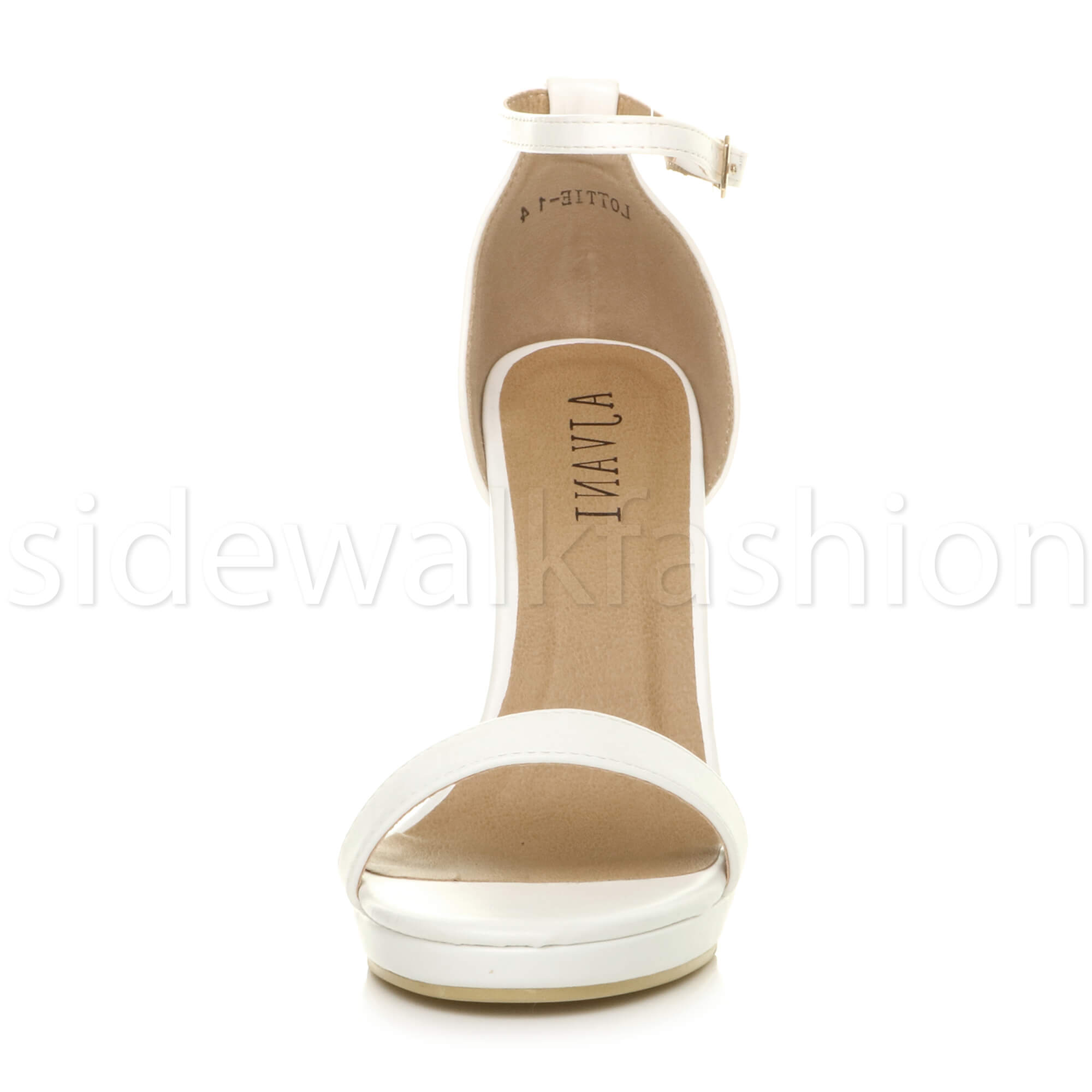 Womens-ladies-high-heel-barely-there-strappy-party-peep-toe-shoes-sandals-size thumbnail 137