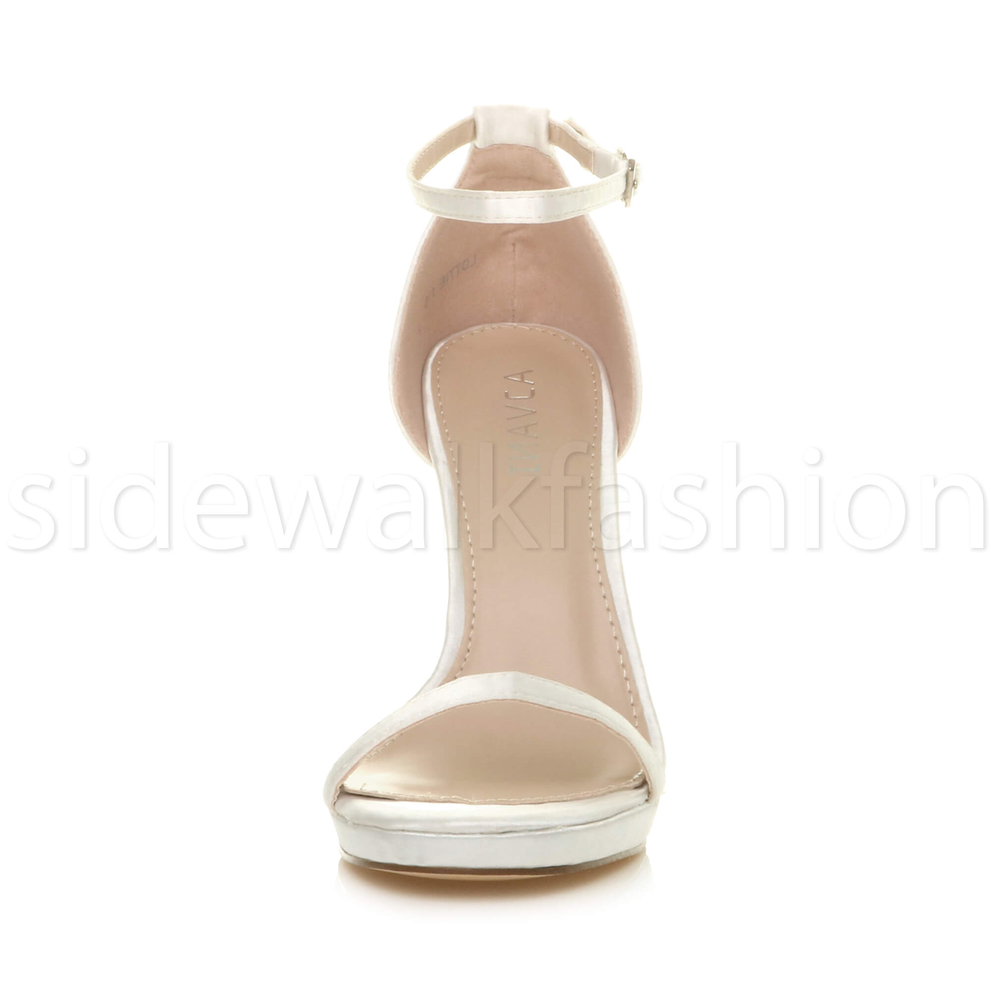 Womens-ladies-high-heel-barely-there-strappy-party-peep-toe-shoes-sandals-size thumbnail 144