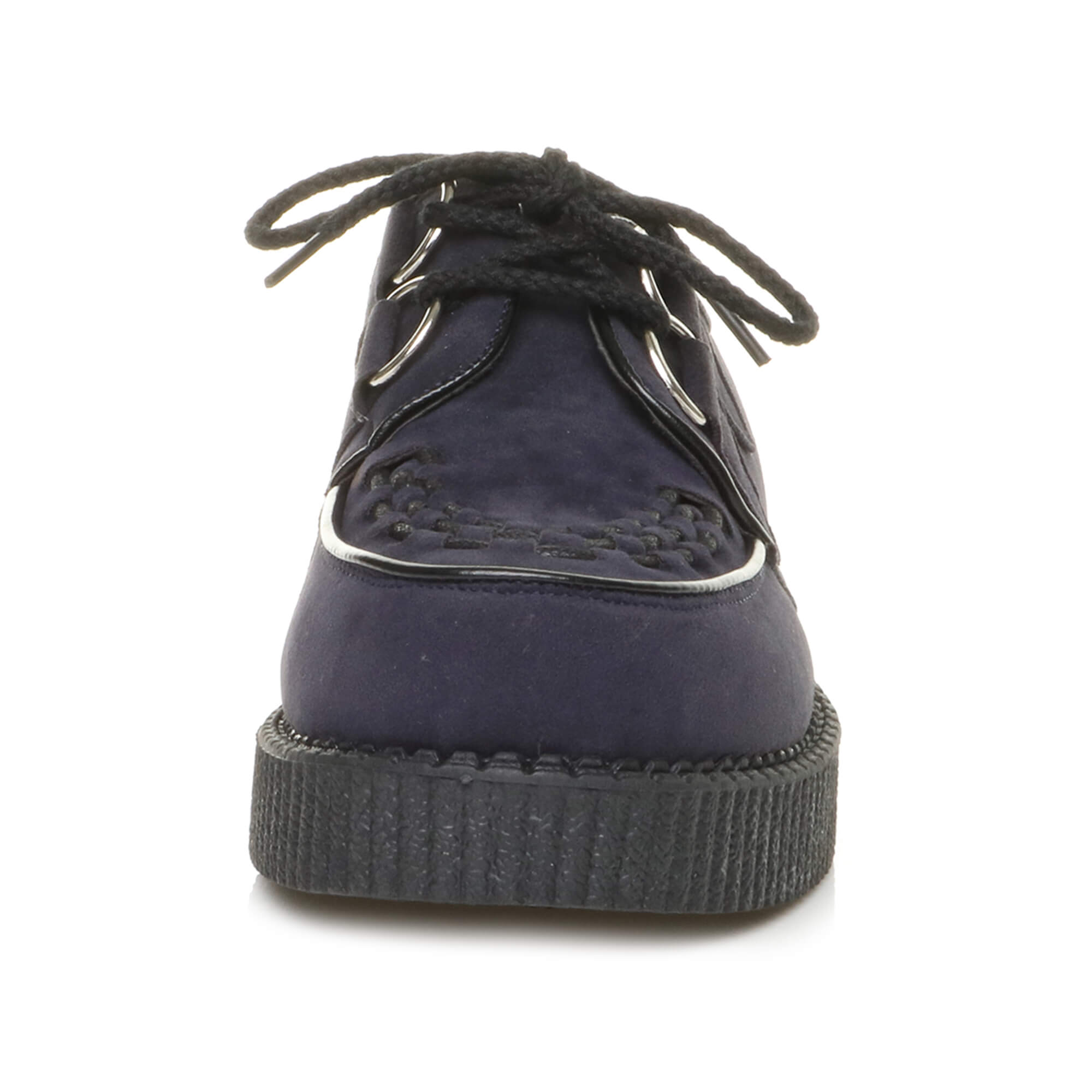 Homme rockabilly Lacets grunge punk goth rockabilly Homme maison close creepers TEDDY Garçon Chaussures Taille e7ce07