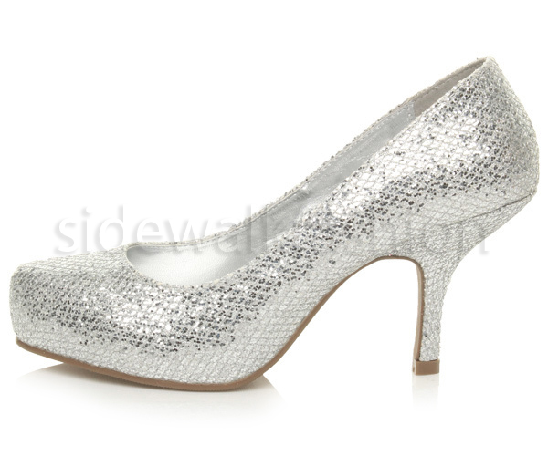 Womens-ladies-low-mid-heel-concealed-platform-work-party-court-shoes-pumps-size thumbnail 132