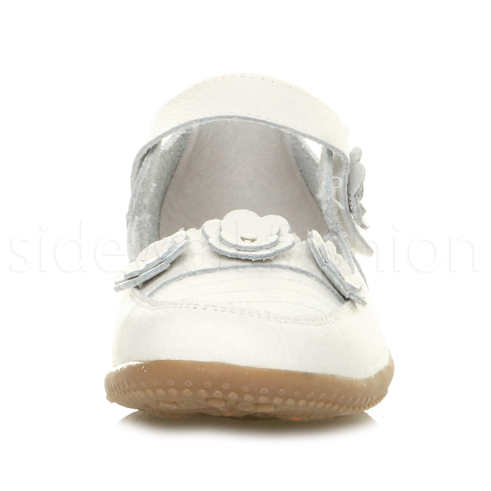 Womens-ladies-leather-comfort-walking-casual-sandals-mary-jane-strap-shoes-size thumbnail 56