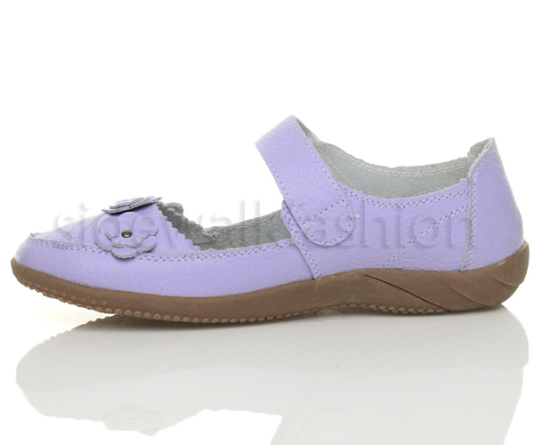 Womens-ladies-leather-comfort-walking-casual-sandals-mary-jane-strap-shoes-size thumbnail 24
