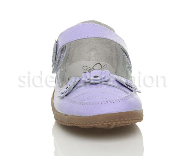 Womens-ladies-leather-comfort-walking-casual-sandals-mary-jane-strap-shoes-size thumbnail 26