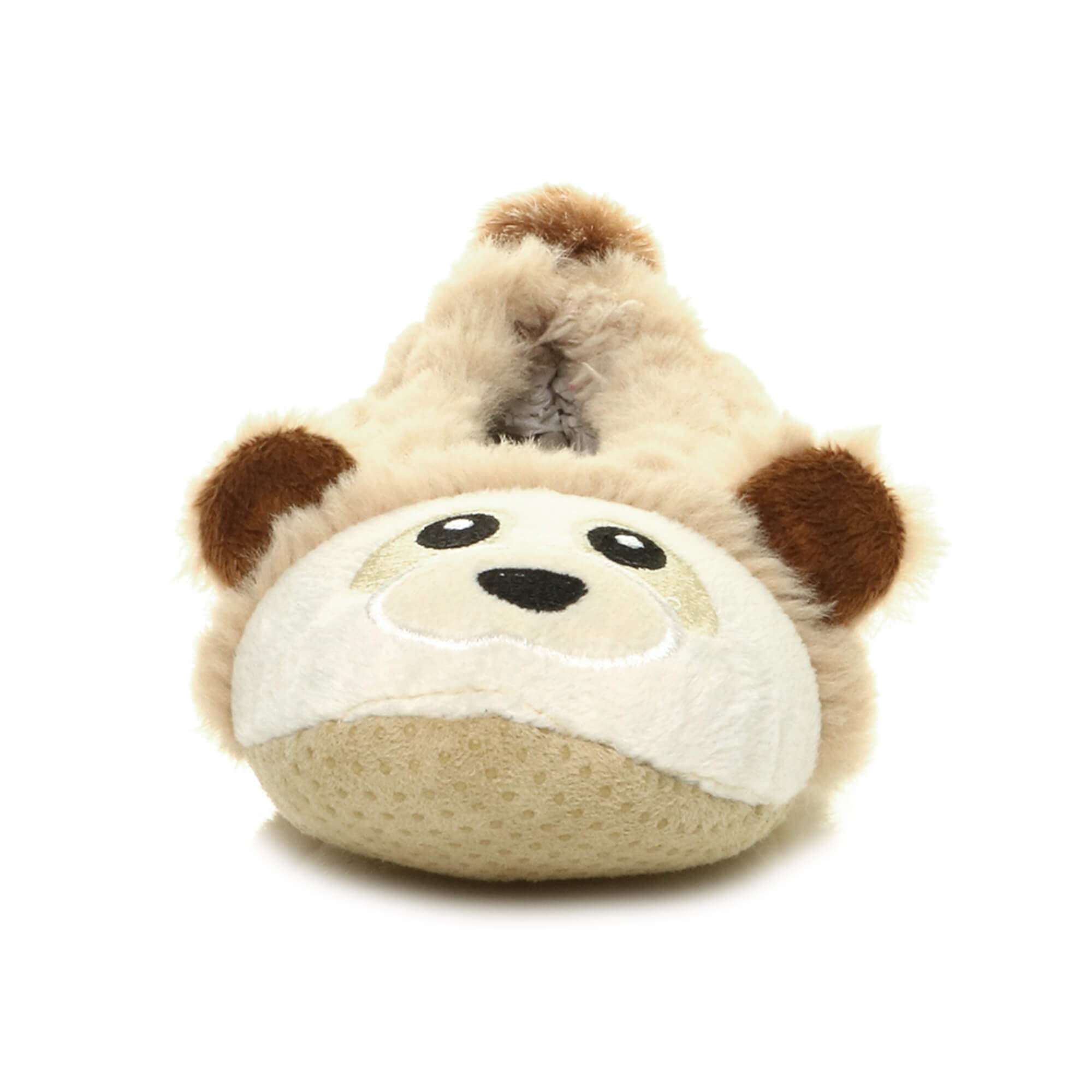 Womens-ladies-raccoon-bear-face-novelty-gift-elastic-slip-on-slippers-socks-size thumbnail 15