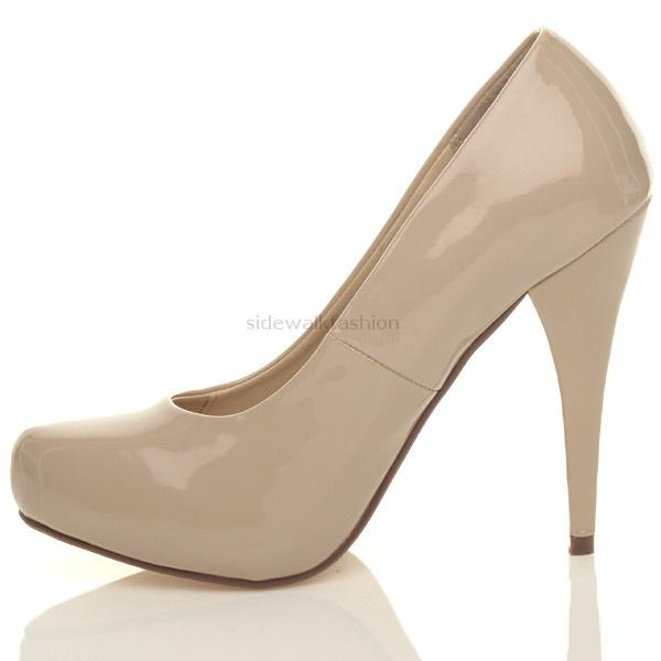 Womens-ladies-platform-pumps-high-heels-party-prom-wedding-court-shoes-size