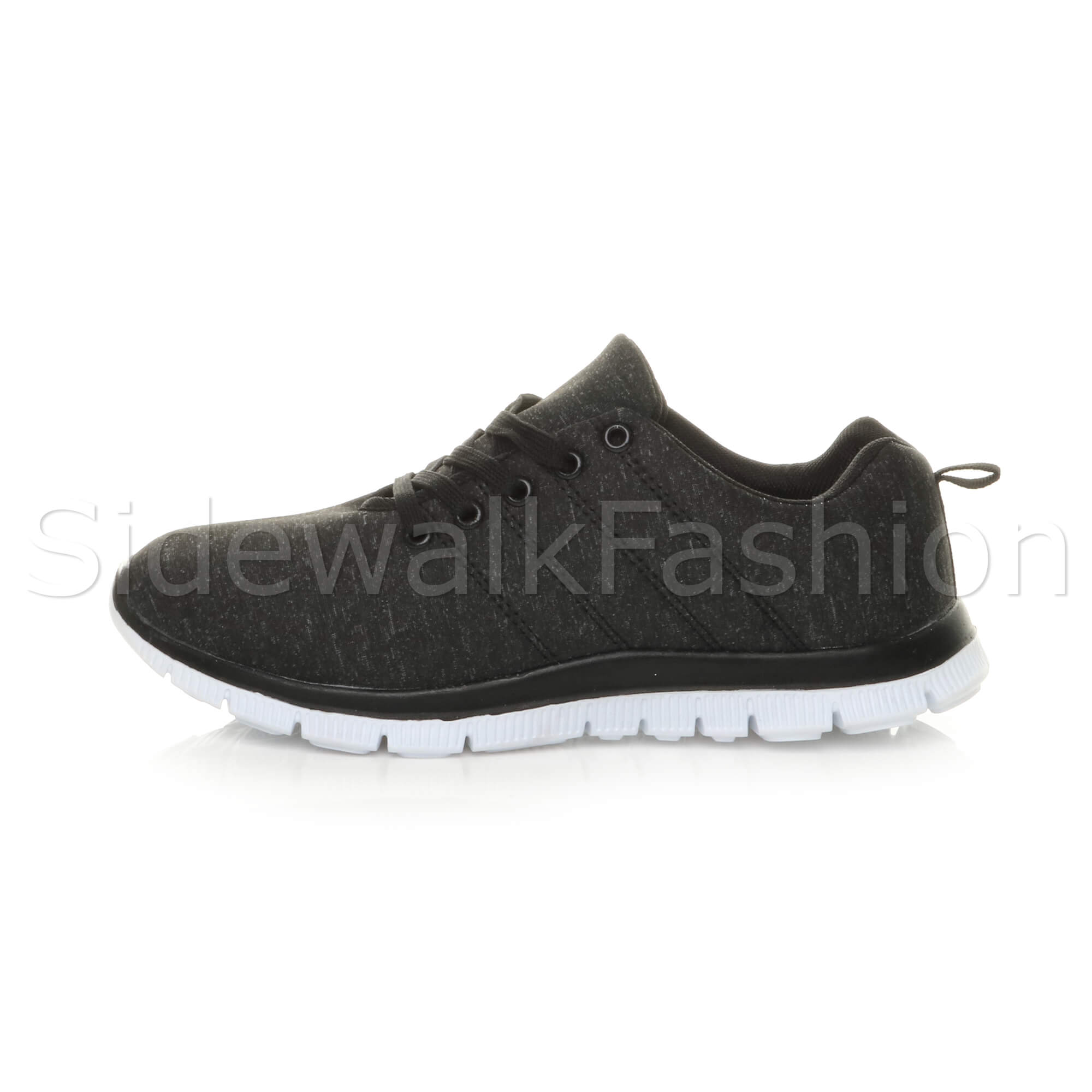 Womens-ladies-comfort-memory-foam-lace-up-trainers-activewear-sneakers-gym-shoes thumbnail 21