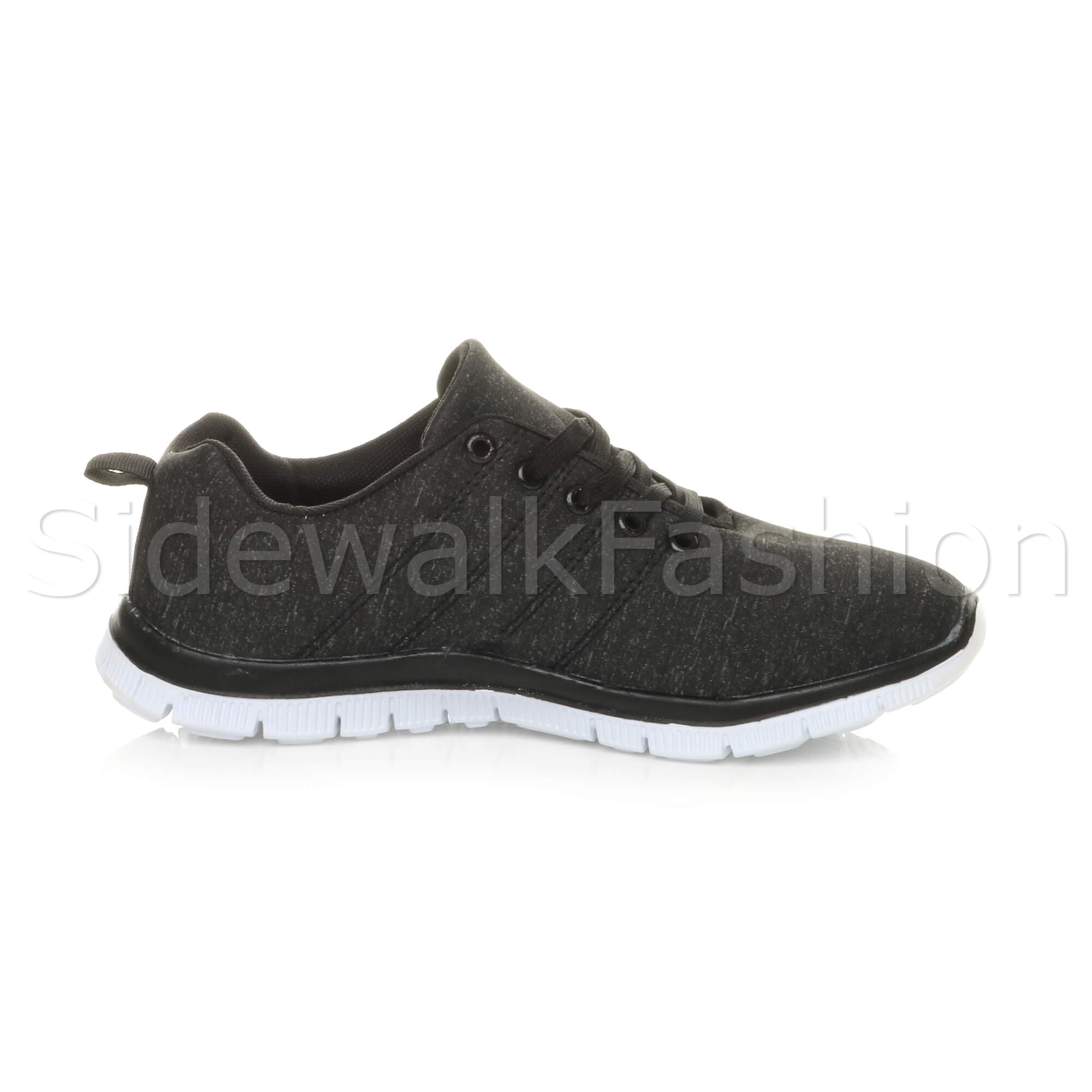 Womens-ladies-comfort-memory-foam-lace-up-trainers-activewear-sneakers-gym-shoes thumbnail 22