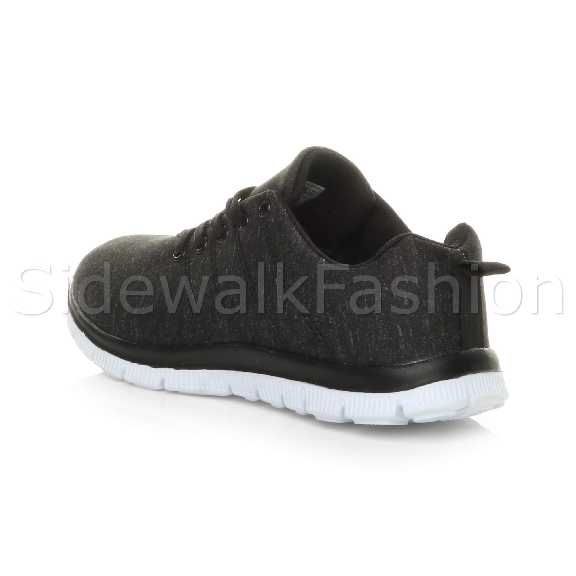 Womens-ladies-comfort-memory-foam-lace-up-trainers-activewear-sneakers-gym-shoes thumbnail 23