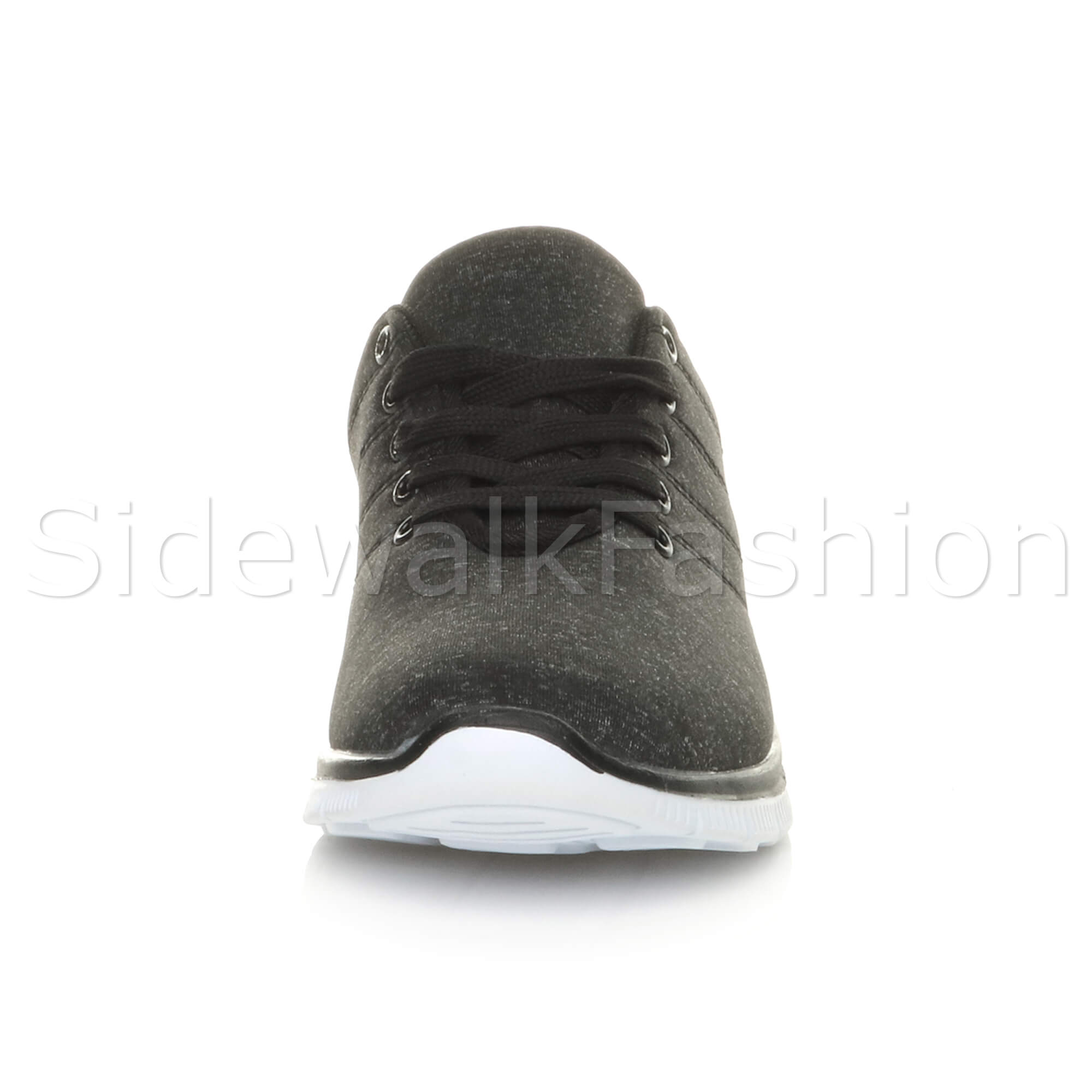 Womens-ladies-comfort-memory-foam-lace-up-trainers-activewear-sneakers-gym-shoes thumbnail 25