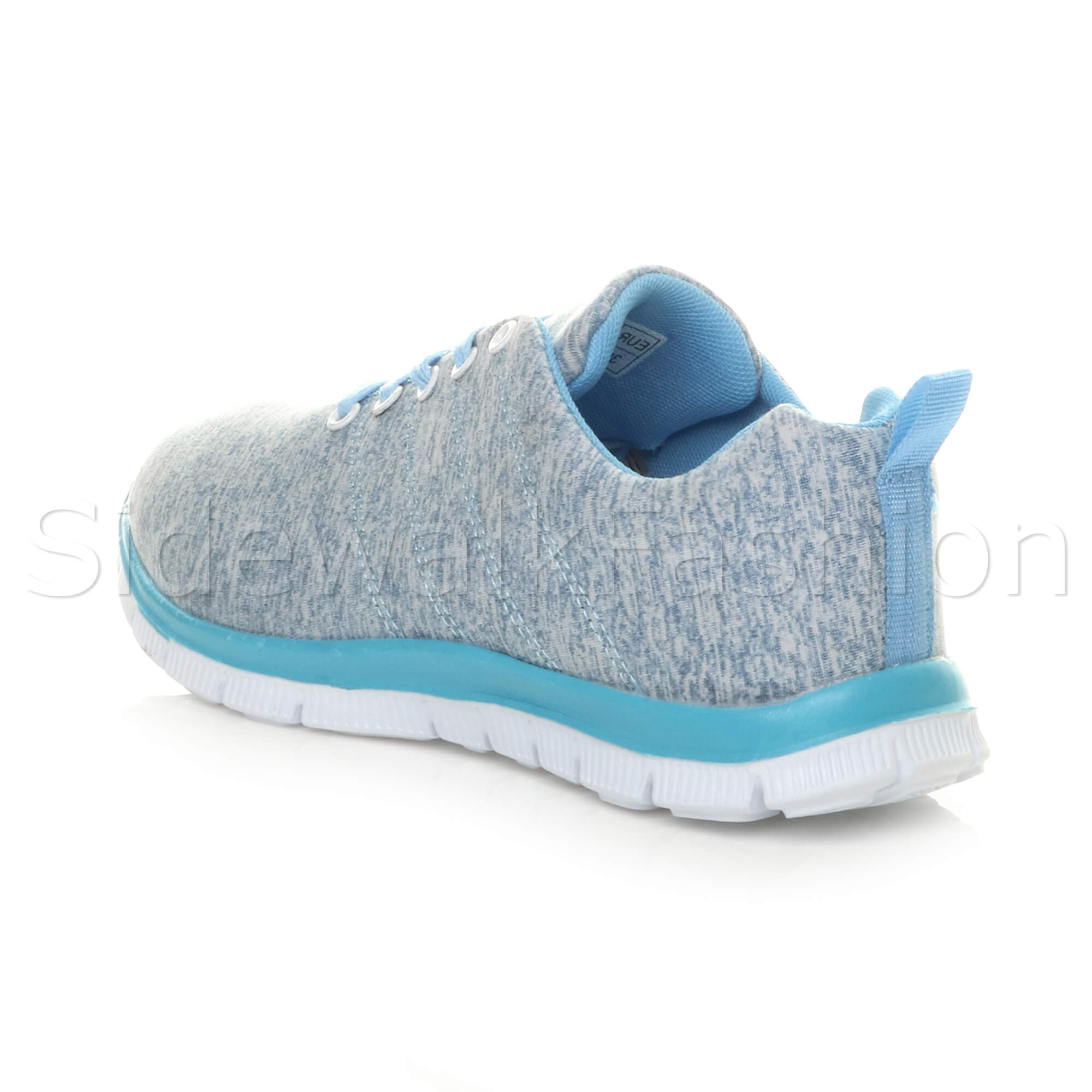 Womens-ladies-comfort-memory-foam-lace-up-trainers-activewear-sneakers-gym-shoes thumbnail 31