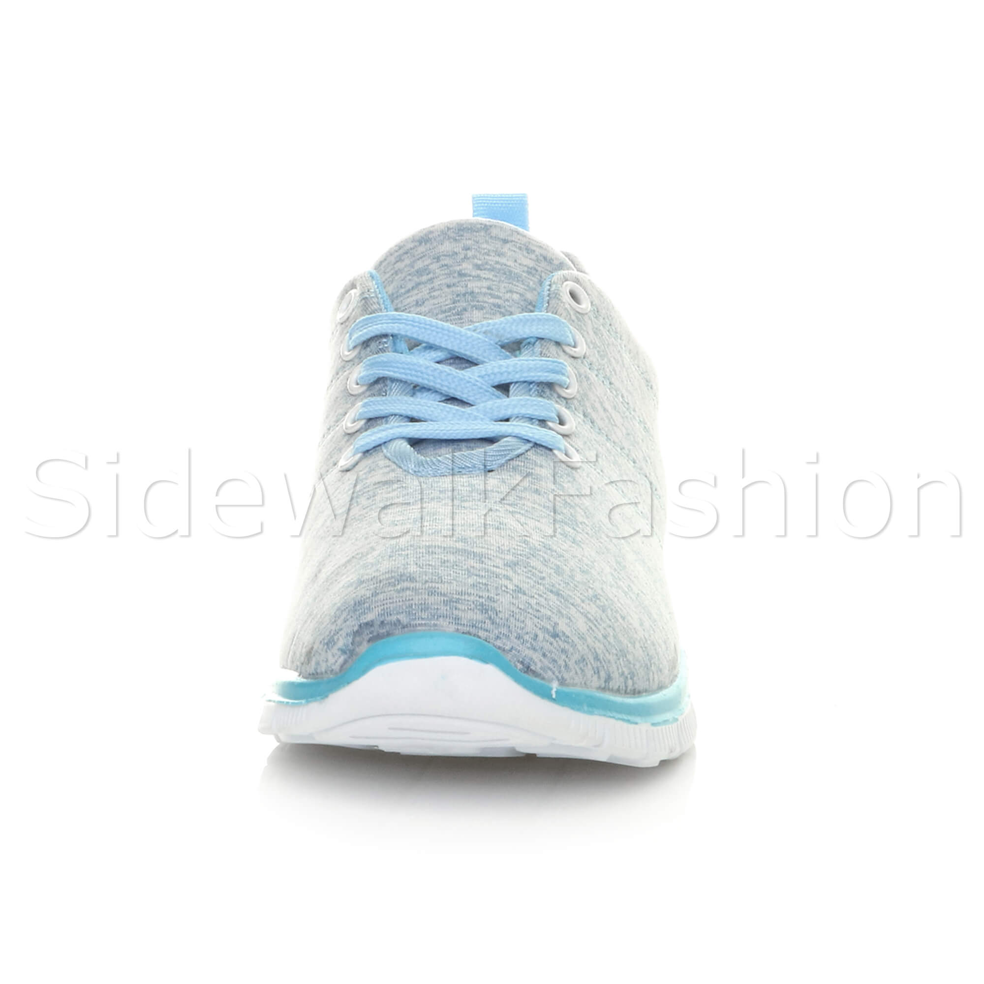 Womens-ladies-comfort-memory-foam-lace-up-trainers-activewear-sneakers-gym-shoes thumbnail 33