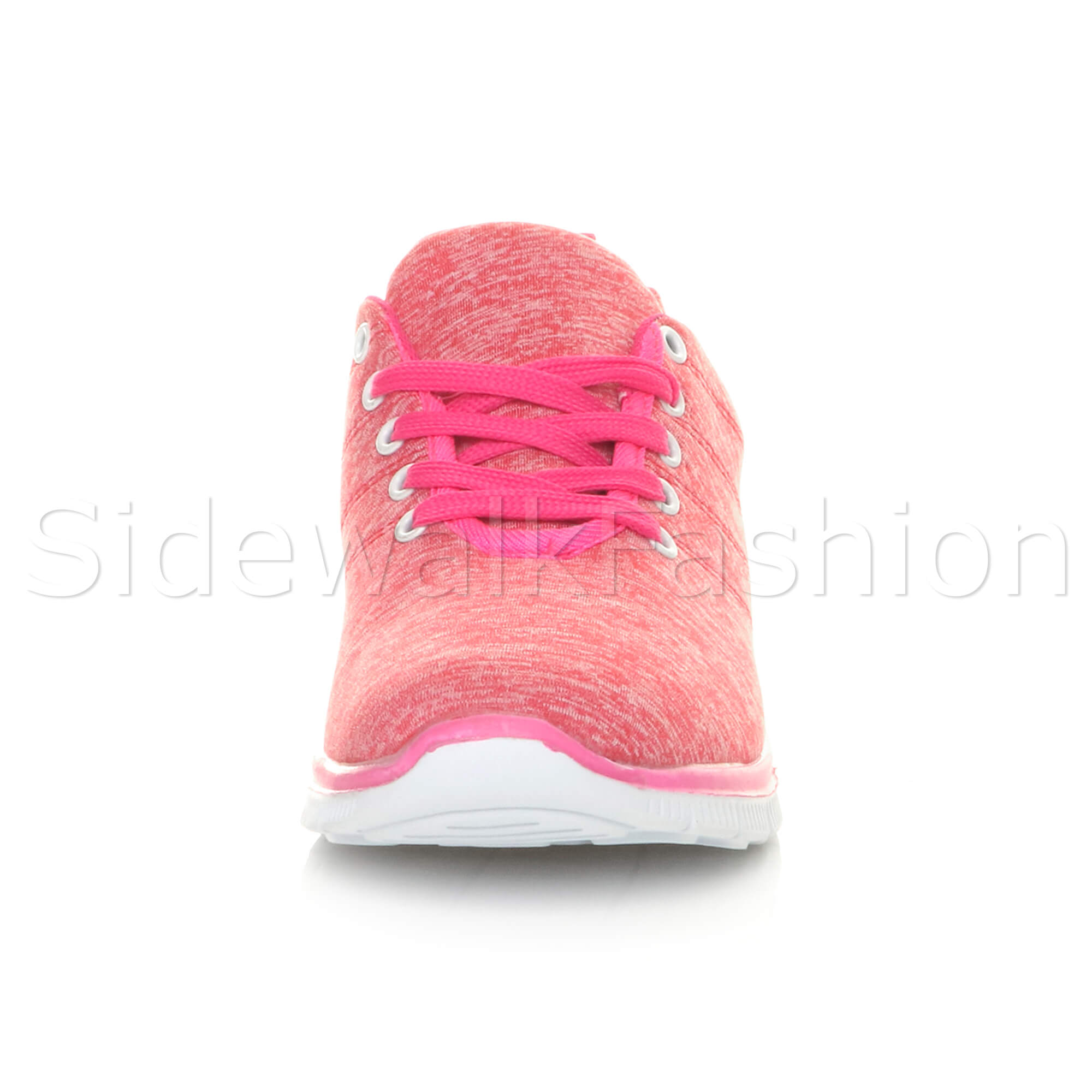 Womens-ladies-comfort-memory-foam-lace-up-trainers-activewear-sneakers-gym-shoes thumbnail 41