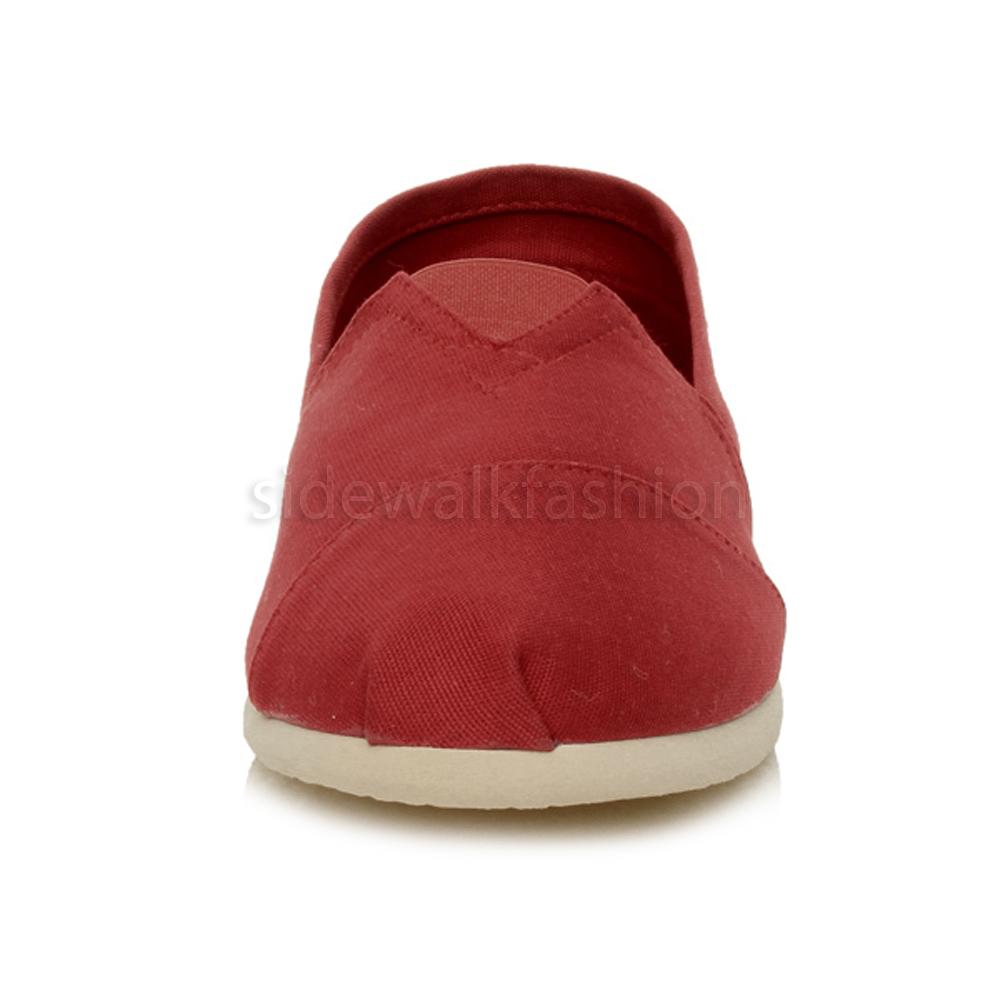 Mens espadrilles canvas leather insole plimsoles pumps deck shoes size