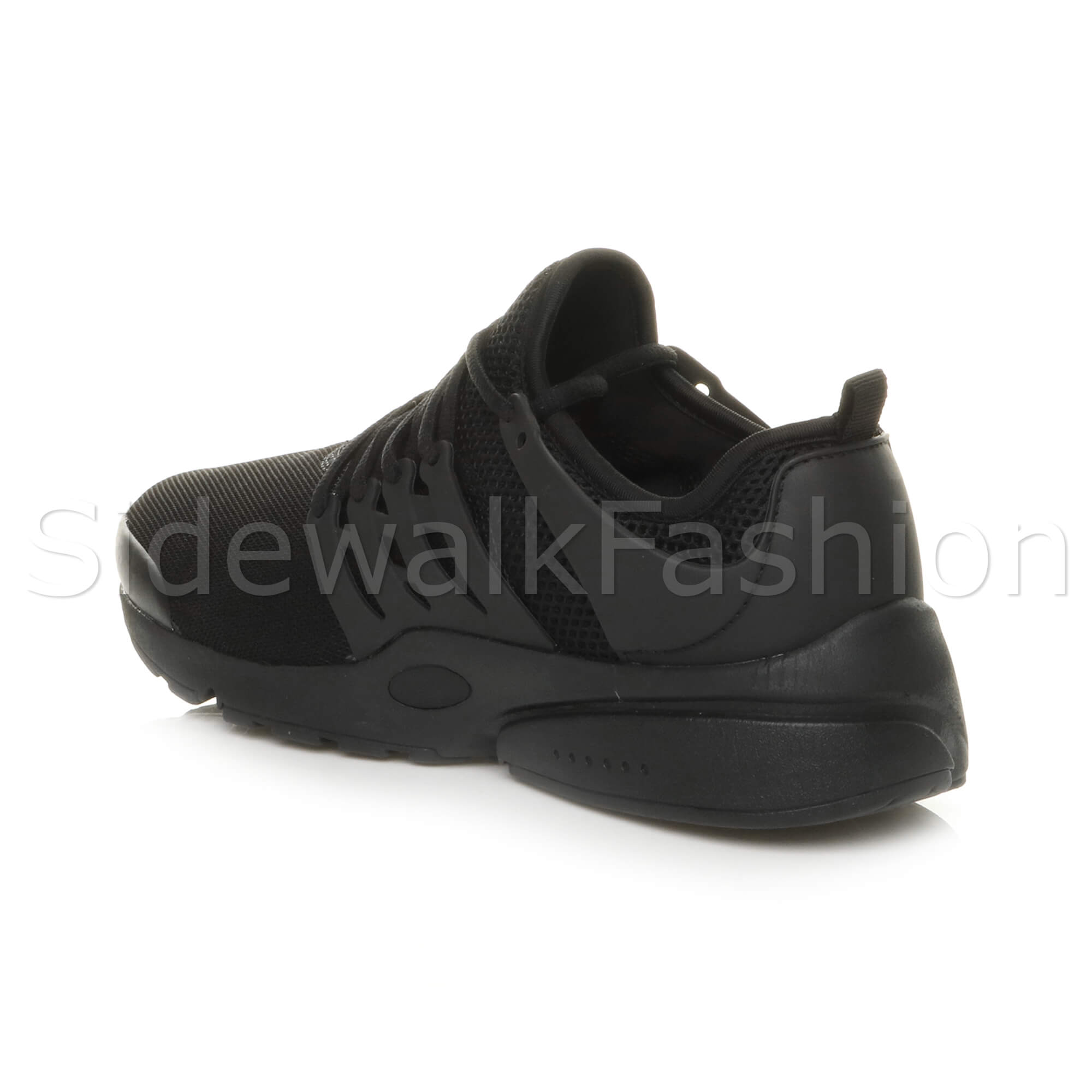 Mens-lace-up-sports-casual-low-top-gym-running-flexible-sneakers-trainers-size miniatuur 5