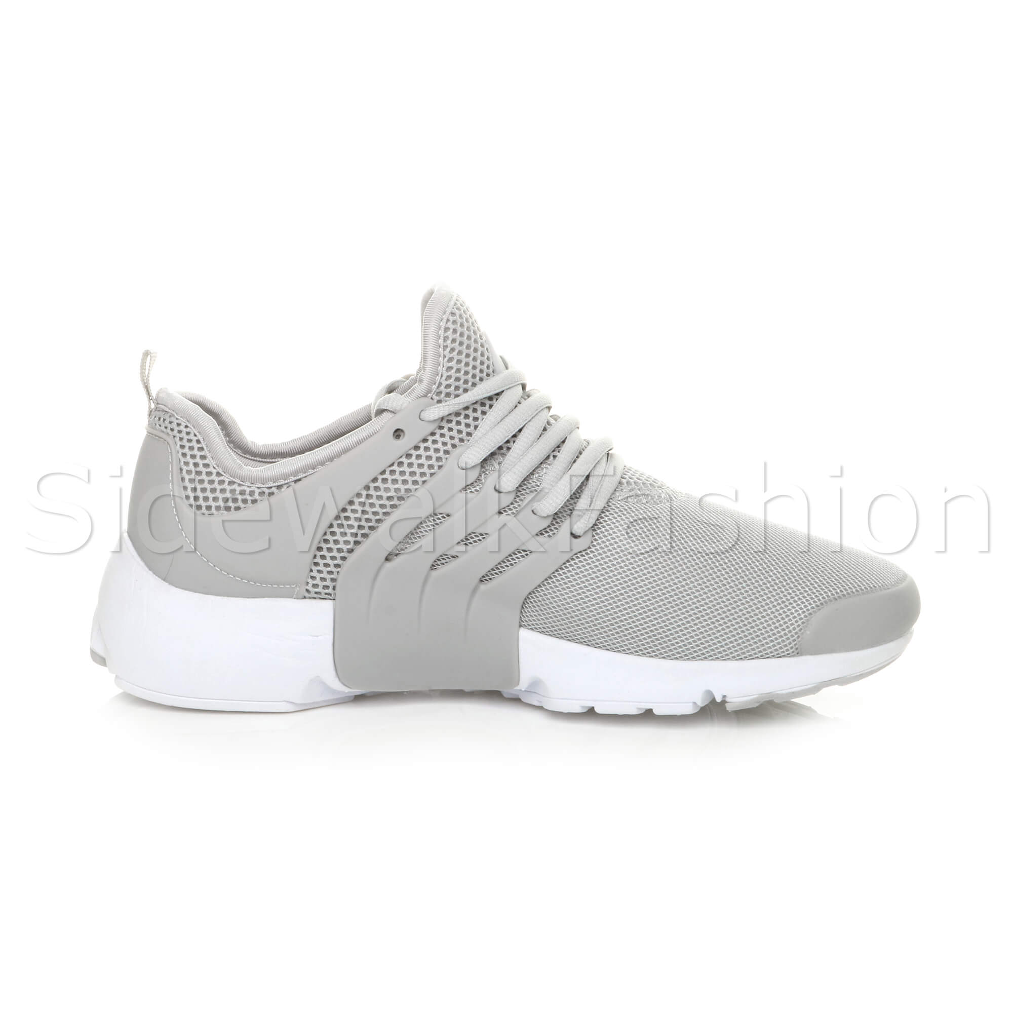 Mens-lace-up-sports-casual-low-top-gym-running-flexible-sneakers-trainers-size miniatuur 12