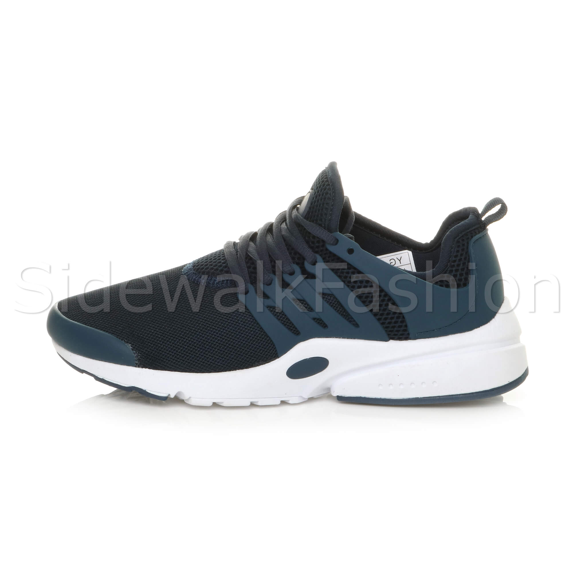 Mens-lace-up-sports-casual-low-top-gym-running-flexible-sneakers-trainers-size miniatuur 19