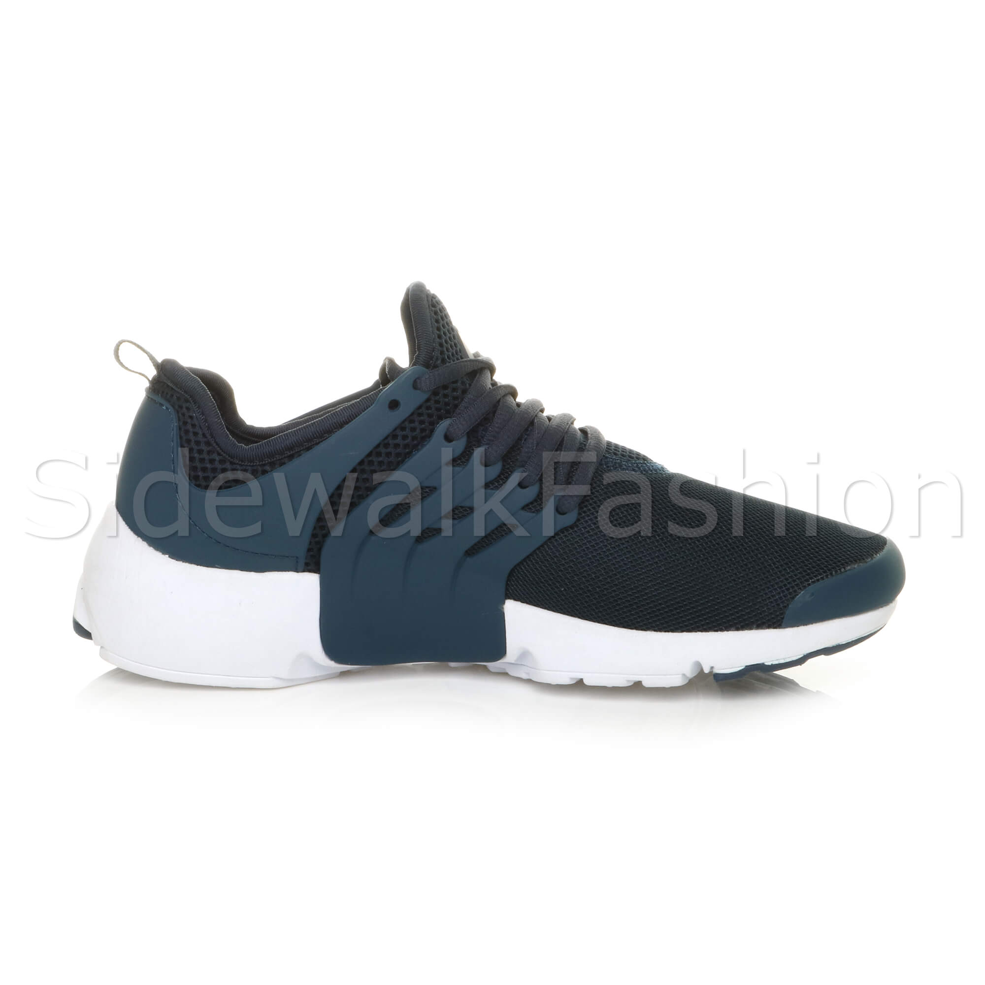 Mens-lace-up-sports-casual-low-top-gym-running-flexible-sneakers-trainers-size miniatuur 20