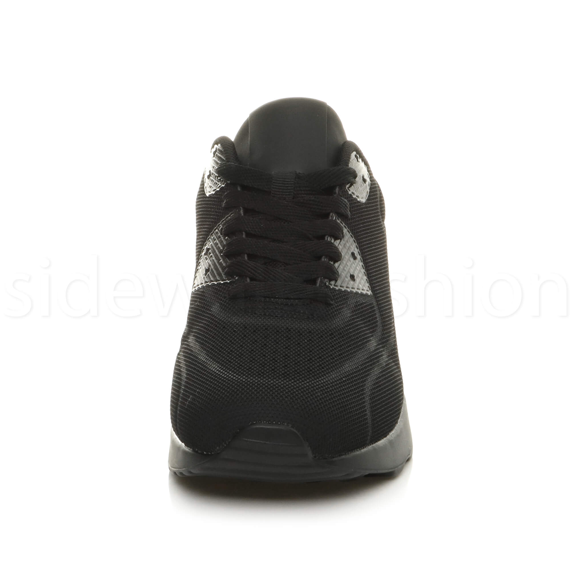 miniatuur 7 - Mens cushioned gym running sports lace up mesh casual trainers sneakers size