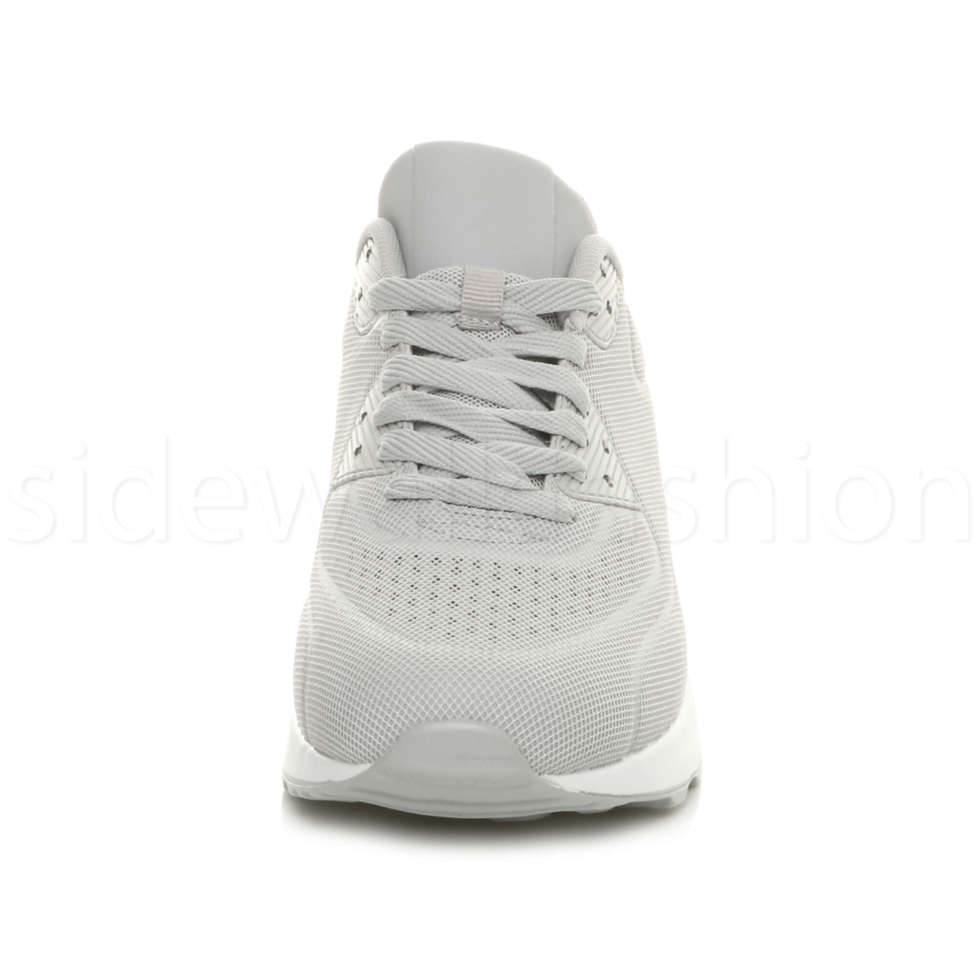miniatuur 23 - Mens cushioned gym running sports lace up mesh casual trainers sneakers size