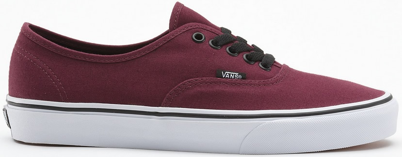 vans bordeaux authentic