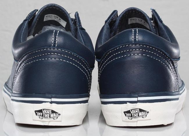 Vans Old Skool Reissue Ca Leather Dress Blue fd10ae67f