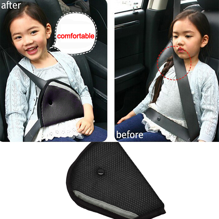 Baby Kids Car Safety Cover Strap Adjuster Pad Harness Children Seat Belt Clip YG