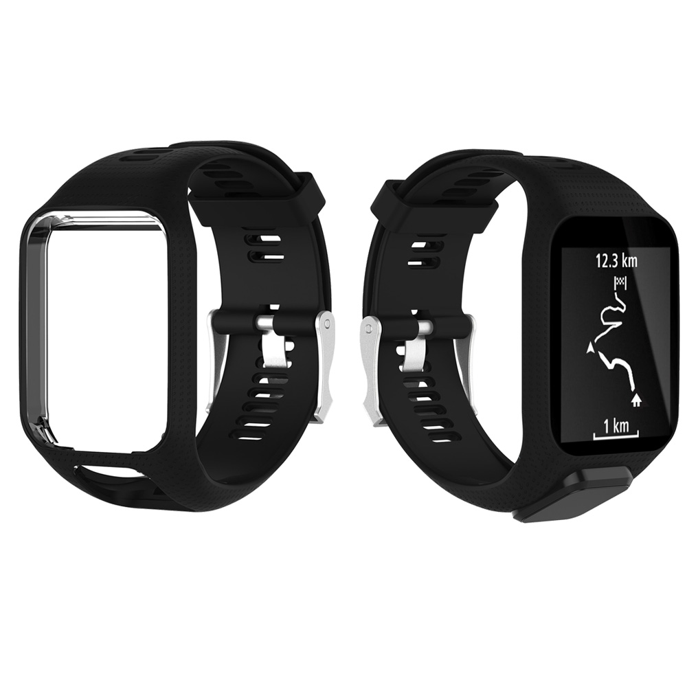 Soft-Sports-Silicone-Wrist-Watch-Band-Strap-For-TomTom-Runner-3-Spark-Spark-3