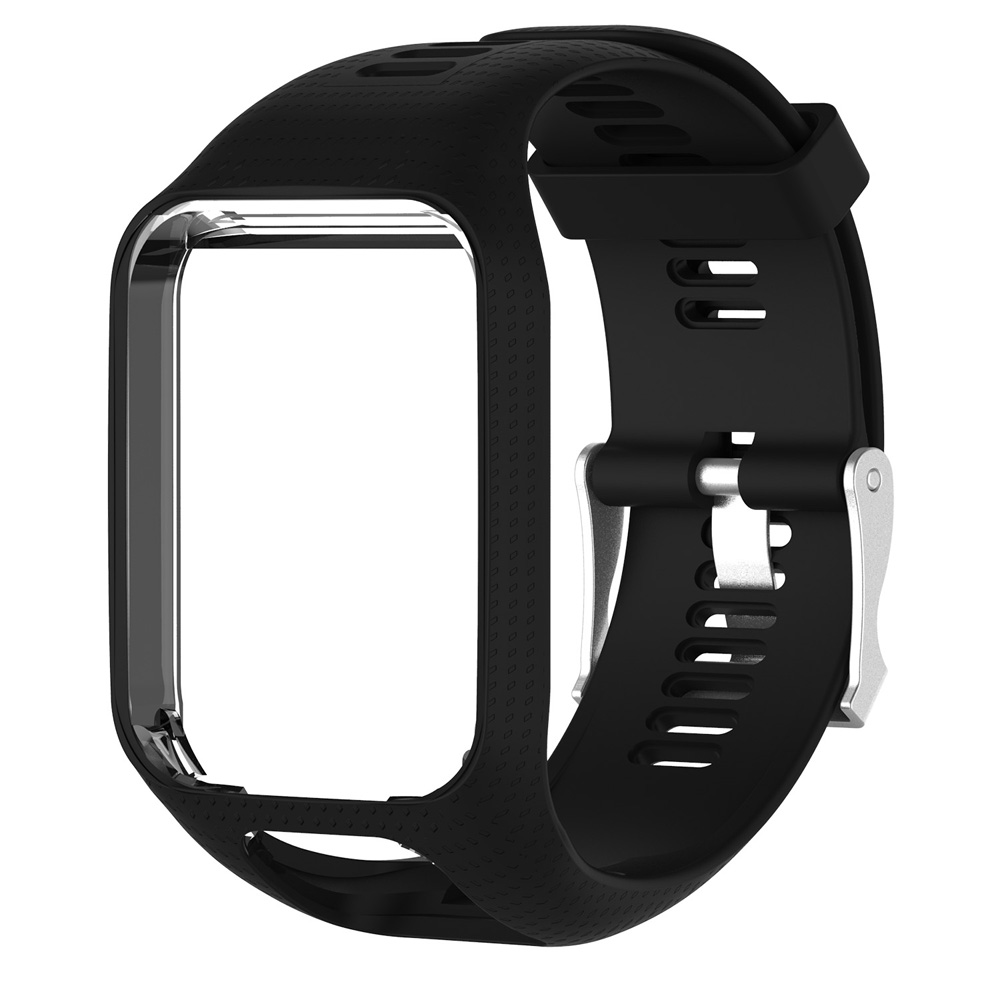 Soft-Sports-Silicone-Wrist-Watch-Band-Strap-For-TomTom-Runner-3-Spark-Spark-3 miniatuur 3