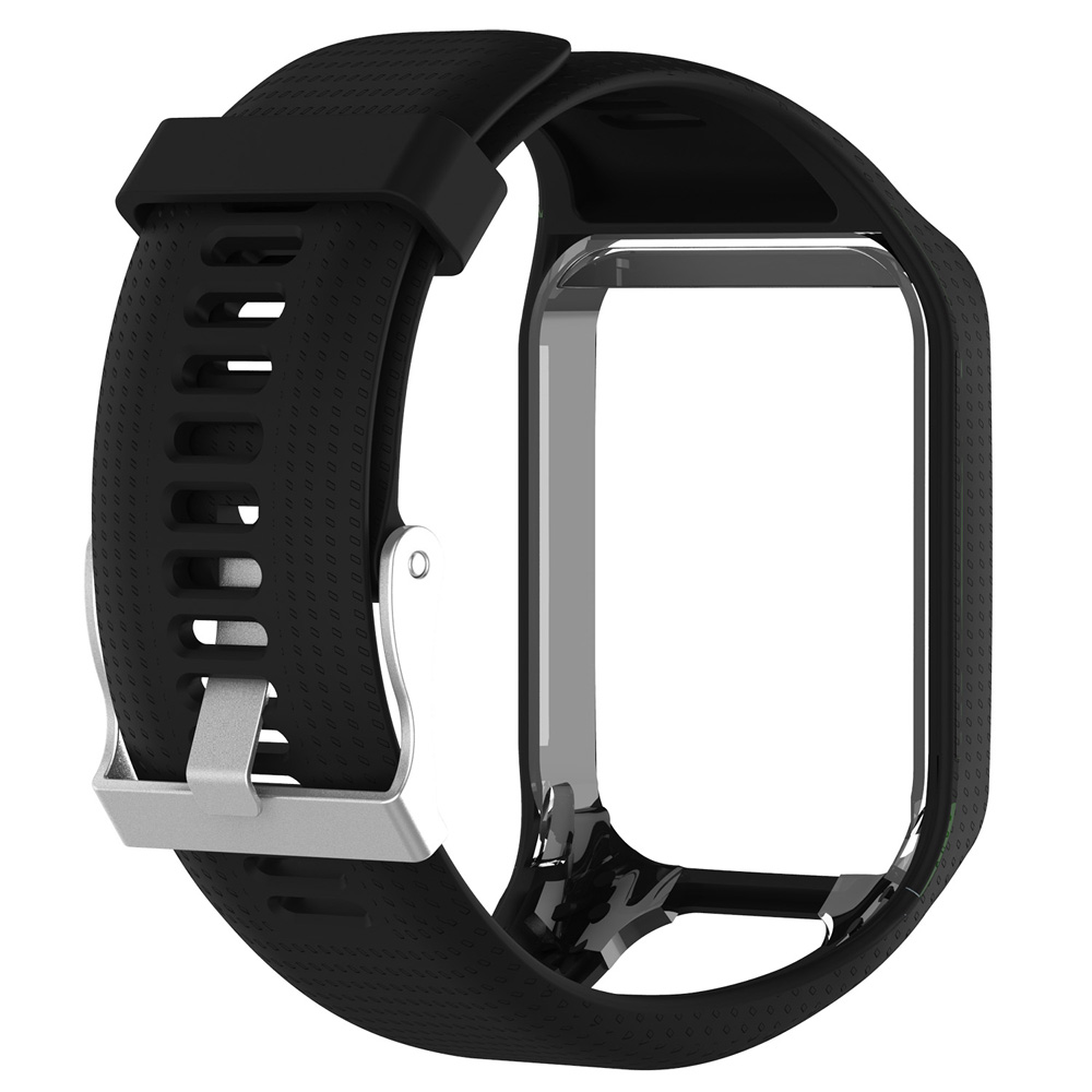 Soft-Sports-Silicone-Wrist-Watch-Band-Strap-For-TomTom-Runner-3-Spark-Spark-3 miniatuur 4
