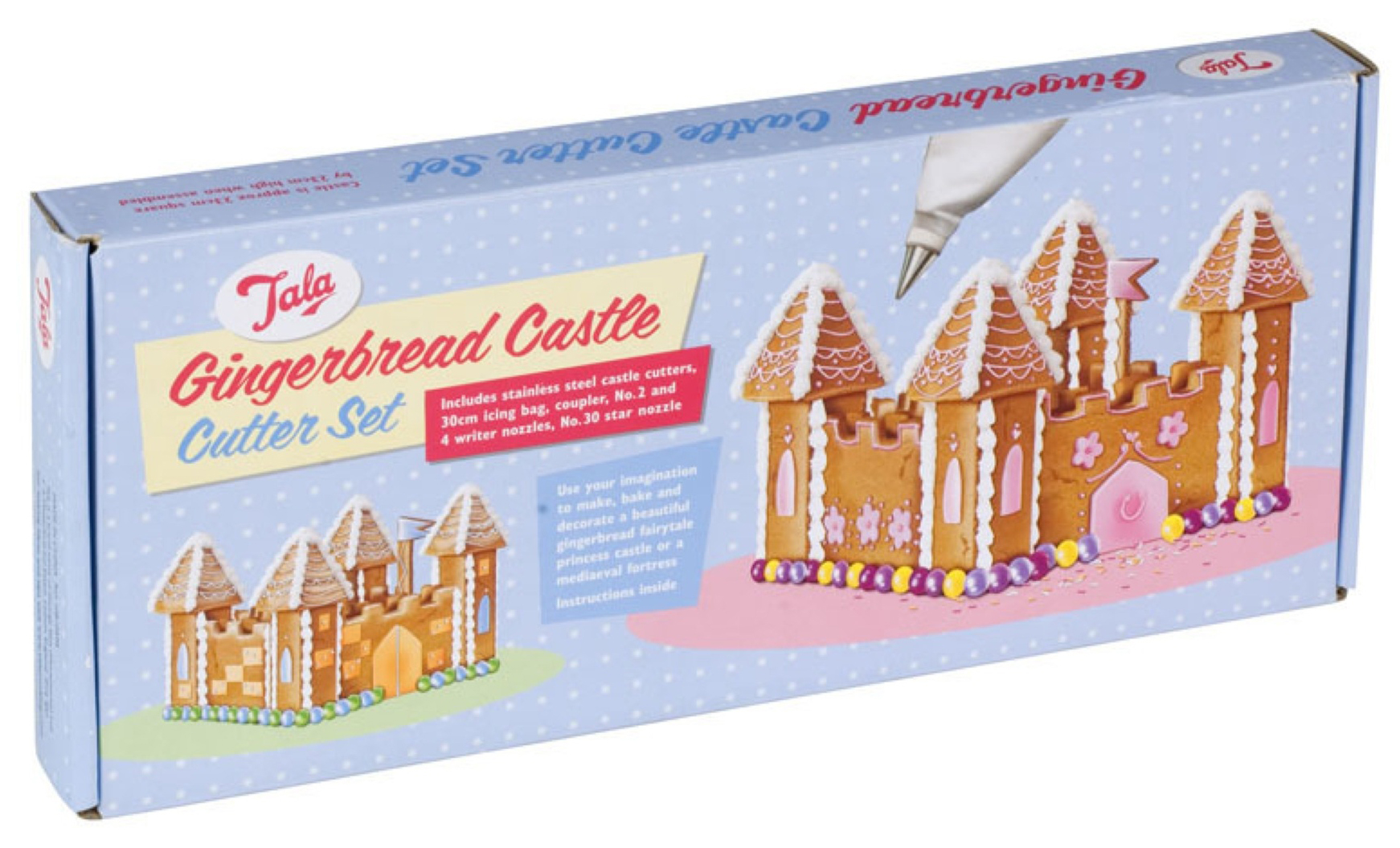 tala gingerbread castle cookie cutter set - online kitchenware