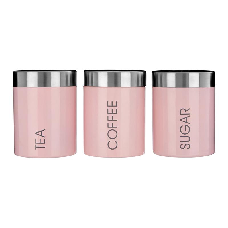 Café et Sucre Boîtes-Lot de 3 Premier Housewares Liberty Thé gris