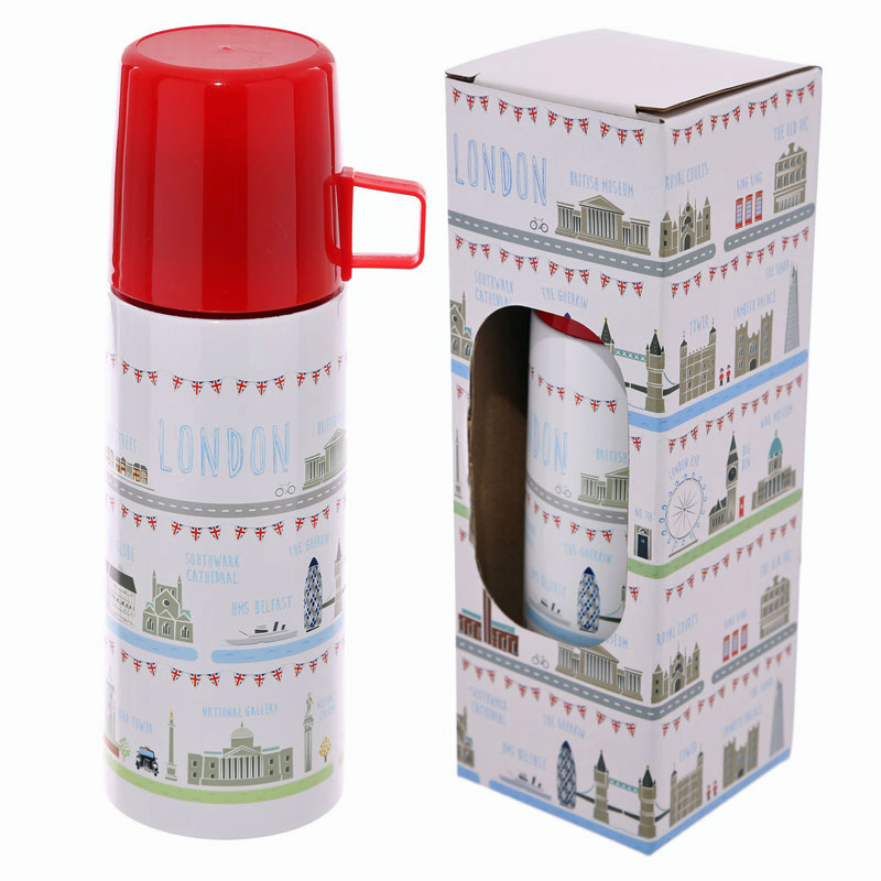 8cmTall SIX X STEEL TRAVEL CUP TELESCOPIC FOLDING  Hip Flask Gift Picnic Hunting