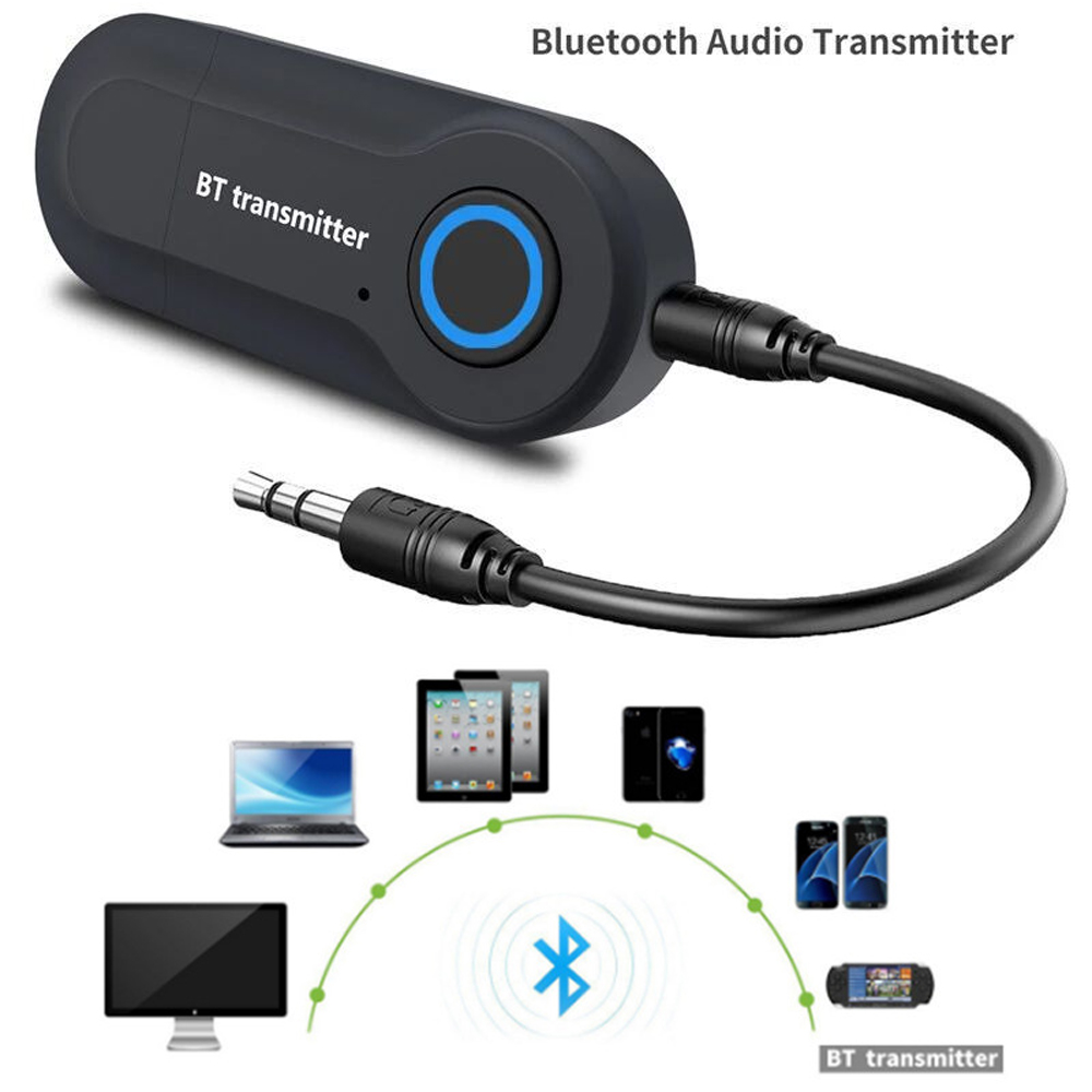 USB Bluetooth 4.2 Transmitter Wireless Audio Music Stereo Dongle Adapter for PC