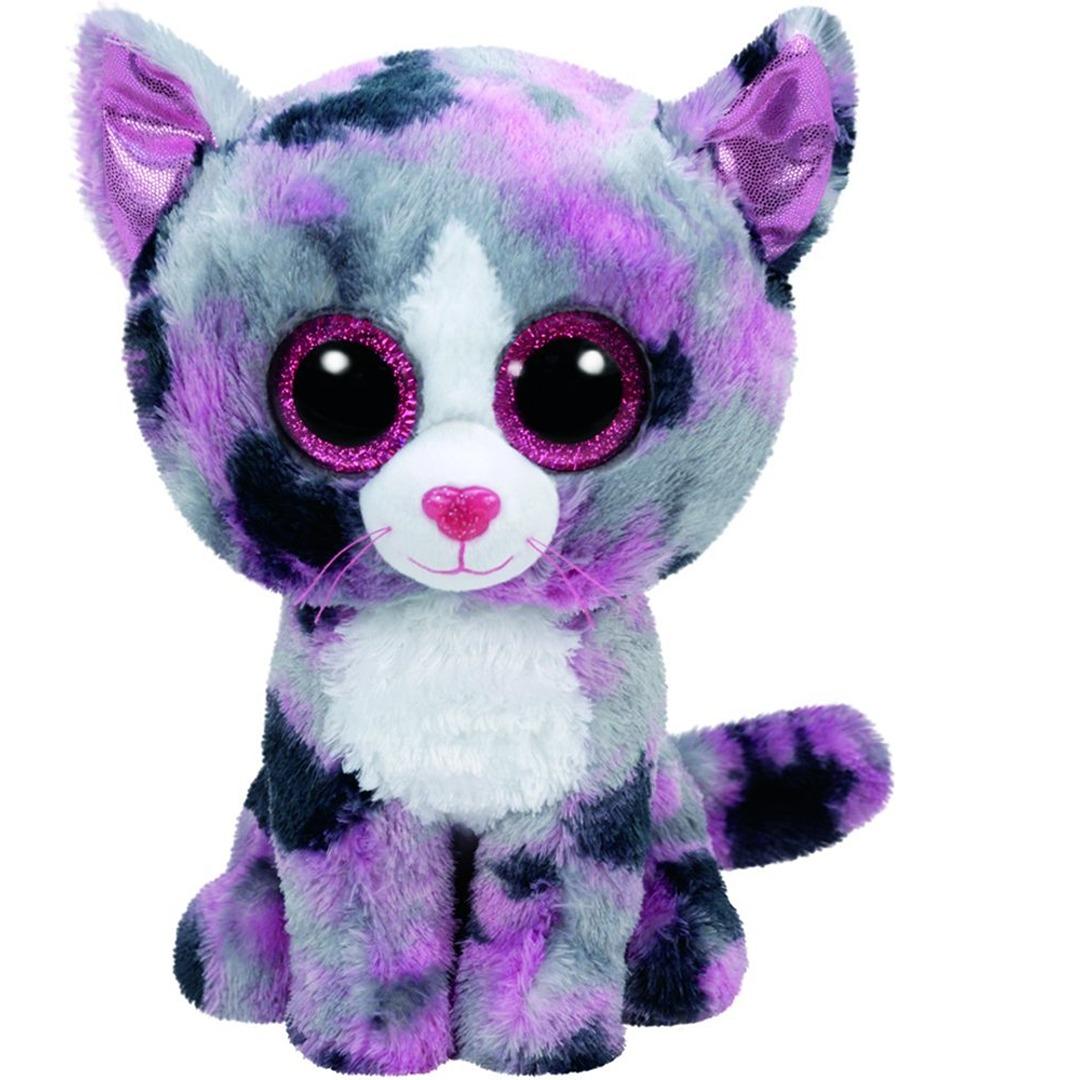 TY Beanie Boo Plush - Lindi the Cat 15cm 8421371723  692002def46