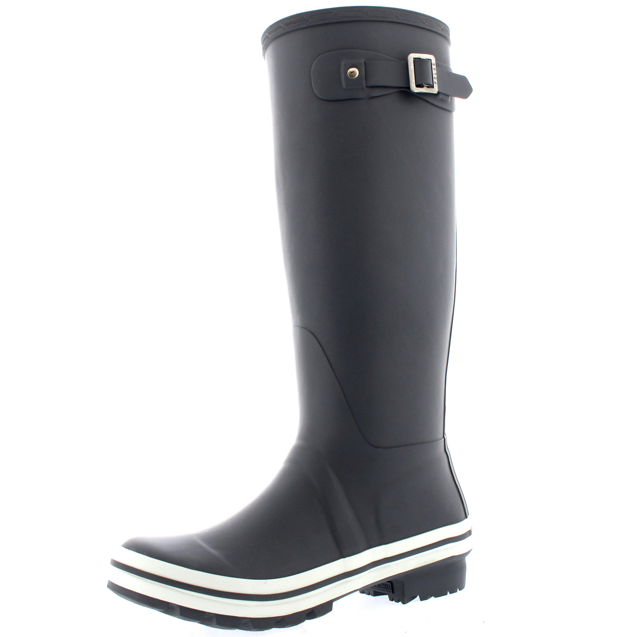 Womens Tall Wellingtons Waterproof Rubber Yard Snow ...