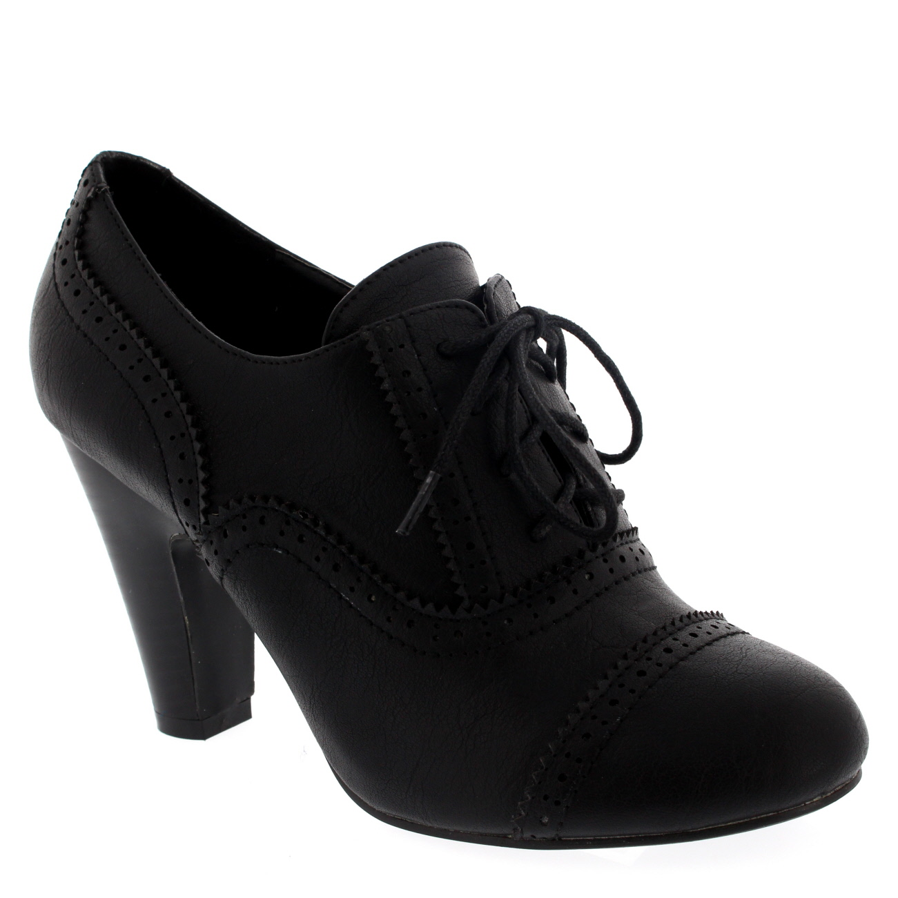 Mary Jane Style Mid Heel Ankle Boot Shoes