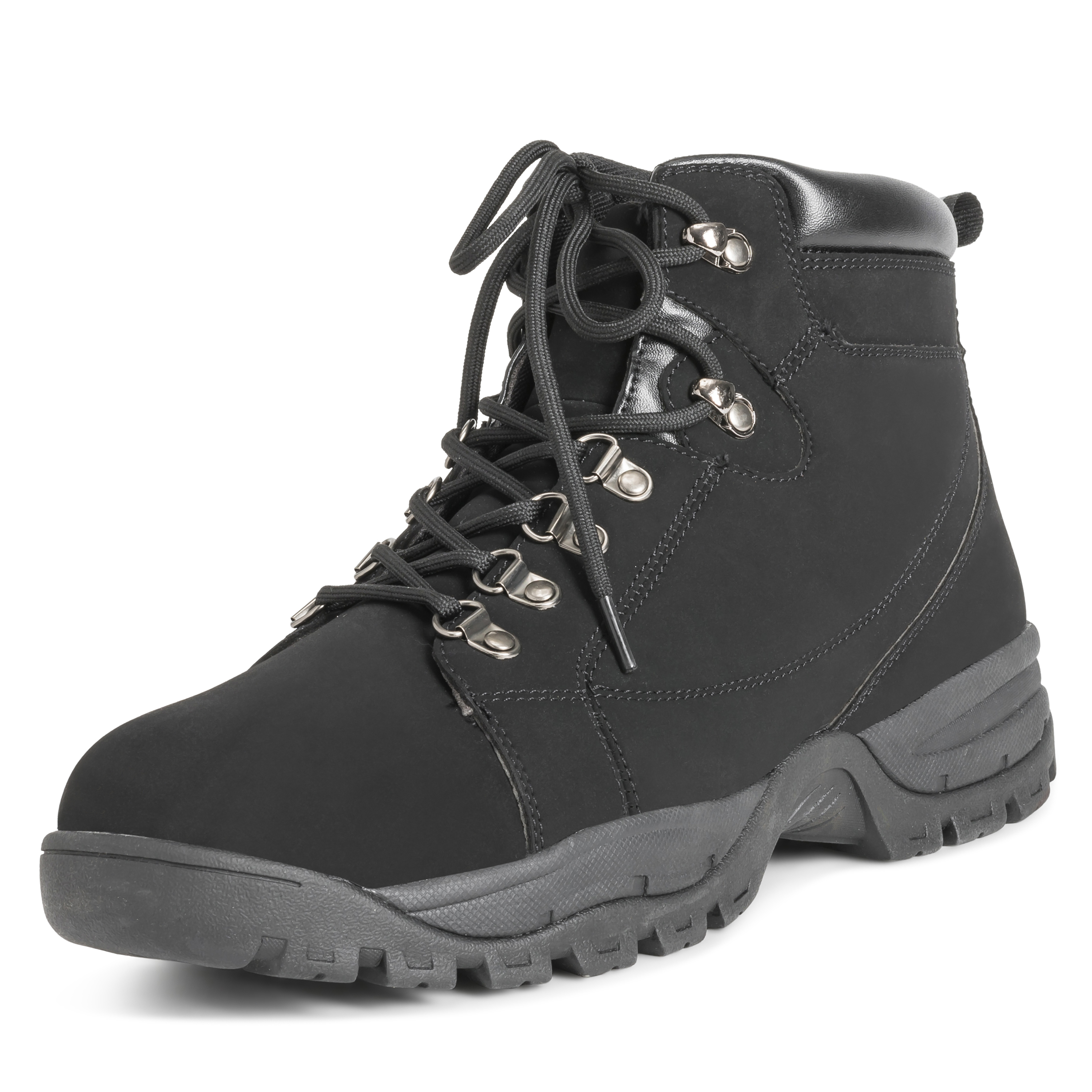a142b77f00b5 Mens Hiker Safety Durable Rubber Sole Work Leather Steel Toe Cap Boots US  7-15
