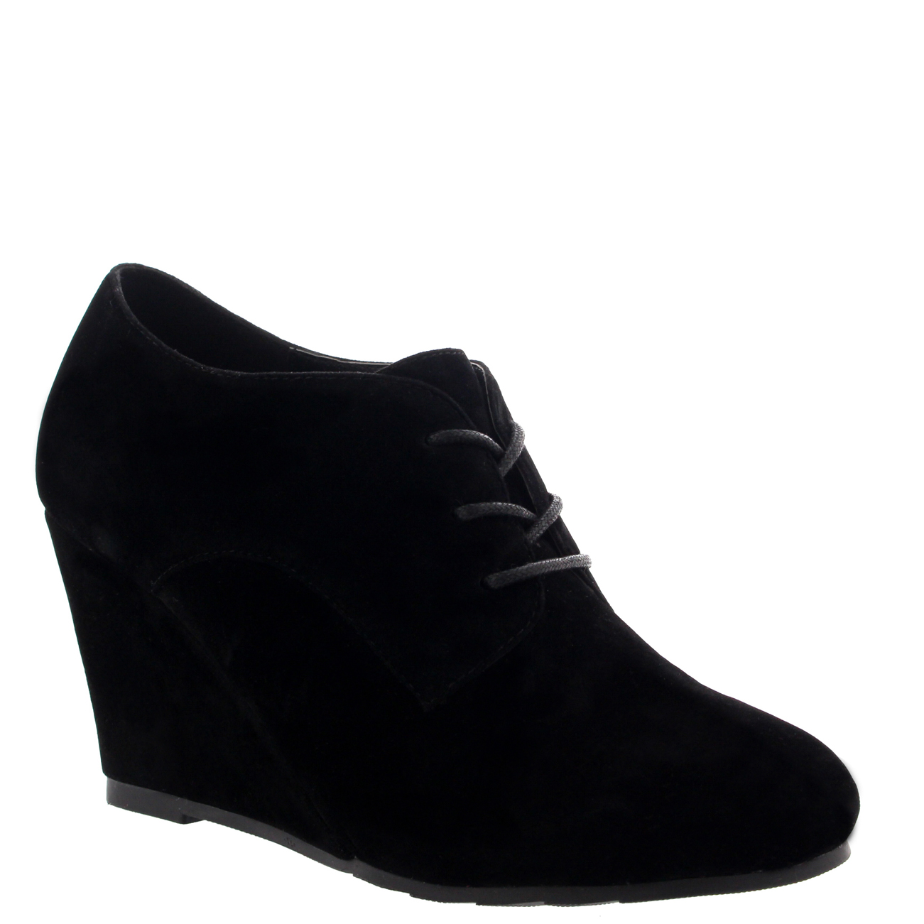 9028167570f Details about Womens Mary Jane Wedge Heel Evening Platform Lace Up Shoes  Ankle Boots US 5-11