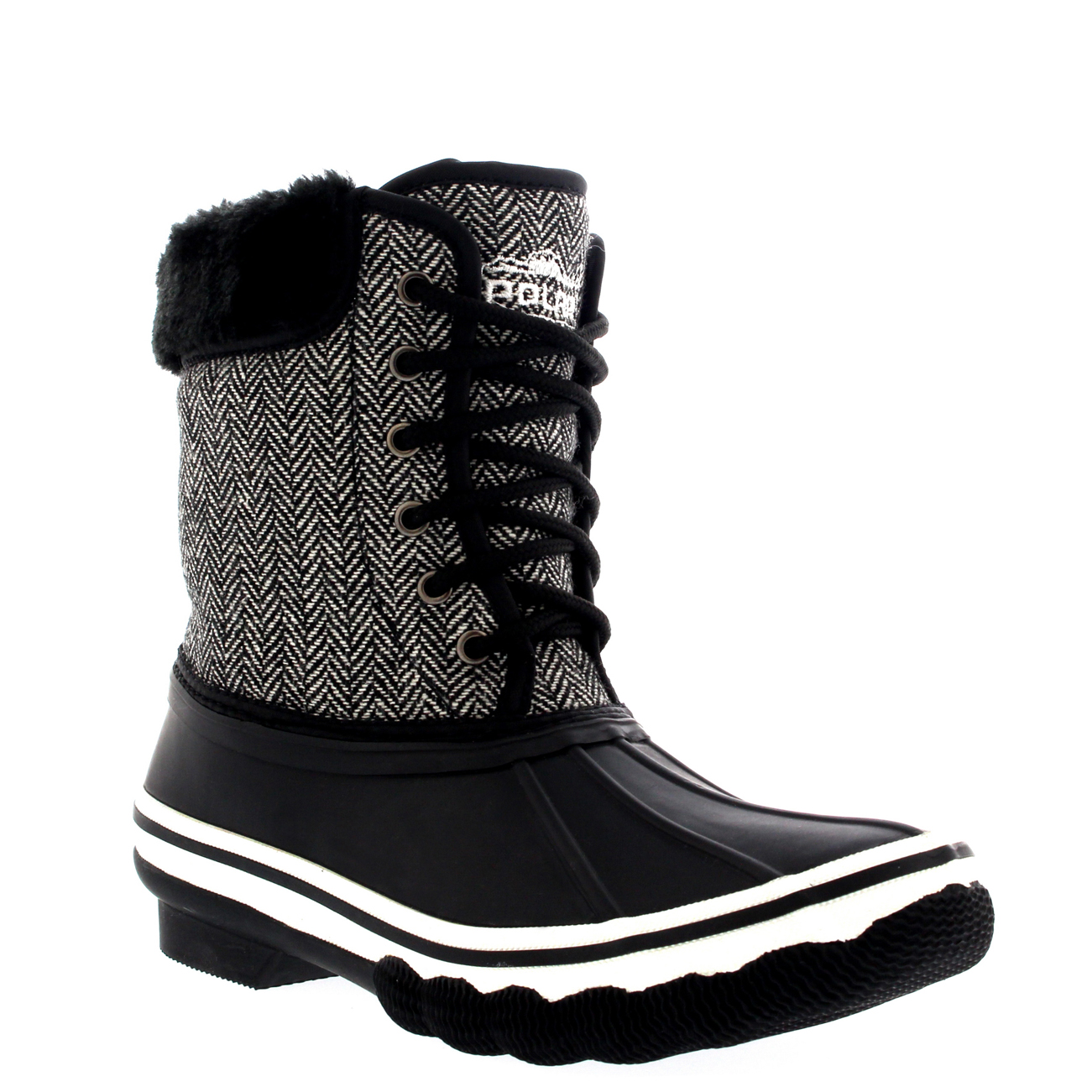 Rubber Snow Boots For Women - Yu Boots