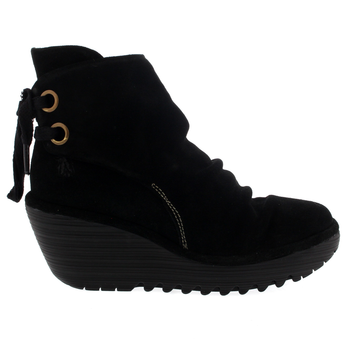Damenschuhe Fly London Yama Lace Up Oil Suede Winter Wedge 5-12 Heel Ankle Stiefel US 5-12 Wedge b27e90