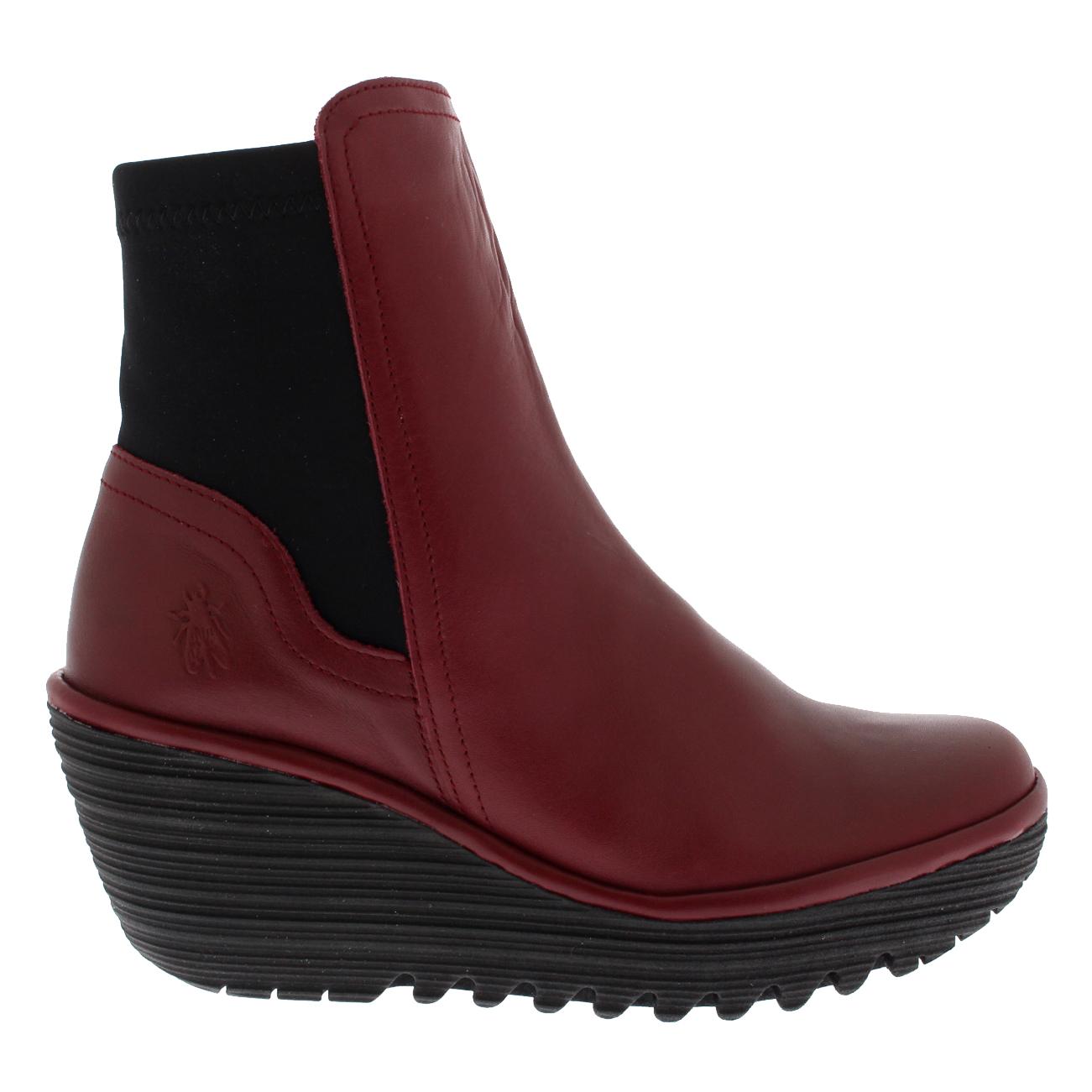damen damen damen Fly London Yuan Casual Winter Wedges Fashion Leather Ankle Stiefel US 5-11 c89a46