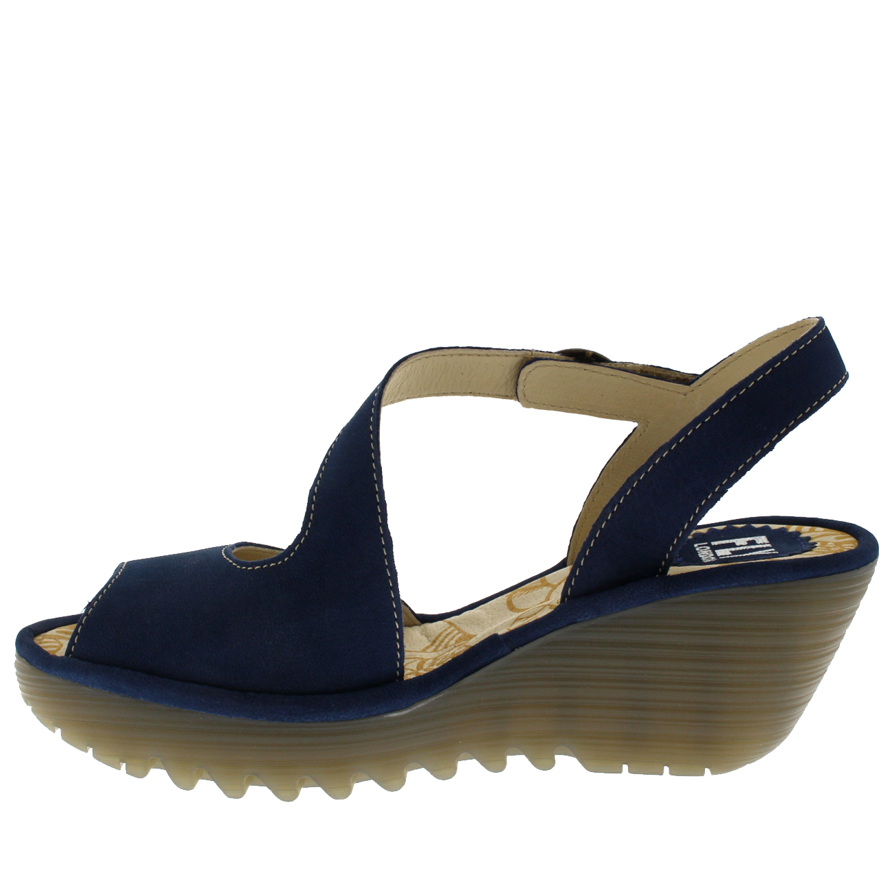 Womens-Fly-London-Yamp-Peep-Toe-Summer-Cut-Out-Buckle-Wedge-Heel-Sandals-US-5-12 thumbnail 11