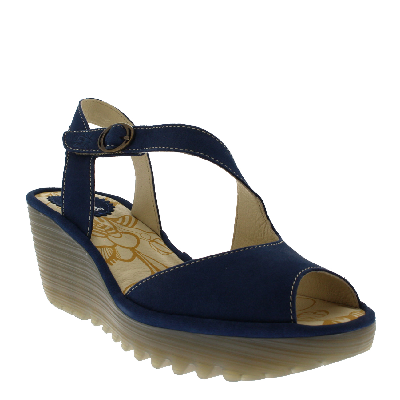 Womens-Fly-London-Yamp-Peep-Toe-Summer-Cut-Out-Buckle-Wedge-Heel-Sandals-US-5-12 thumbnail 12