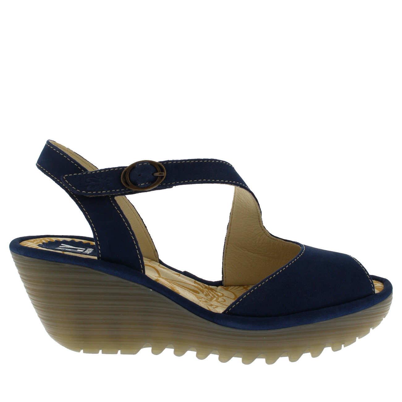 Womens-Fly-London-Yamp-Peep-Toe-Summer-Cut-Out-Buckle-Wedge-Heel-Sandals-US-5-12 thumbnail 13