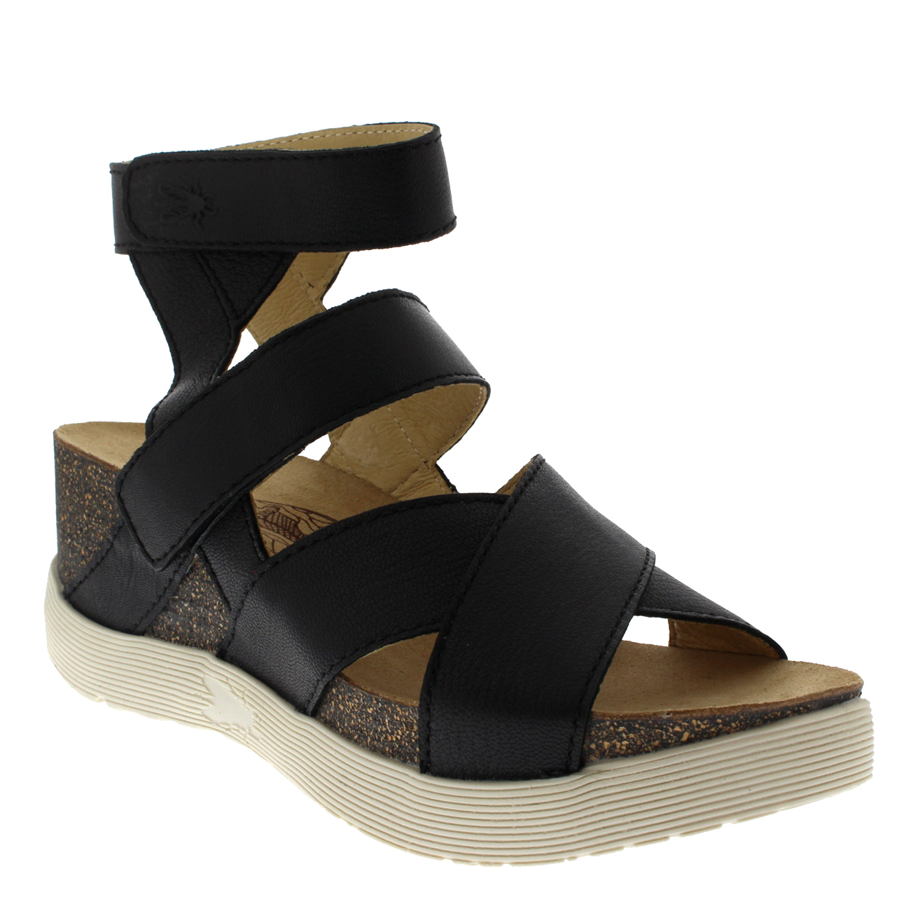Womens-Fly-London-Wedge-Leather-Open-Toe-Summer-Cut-Out-Sandals-US-5-12 thumbnail 12