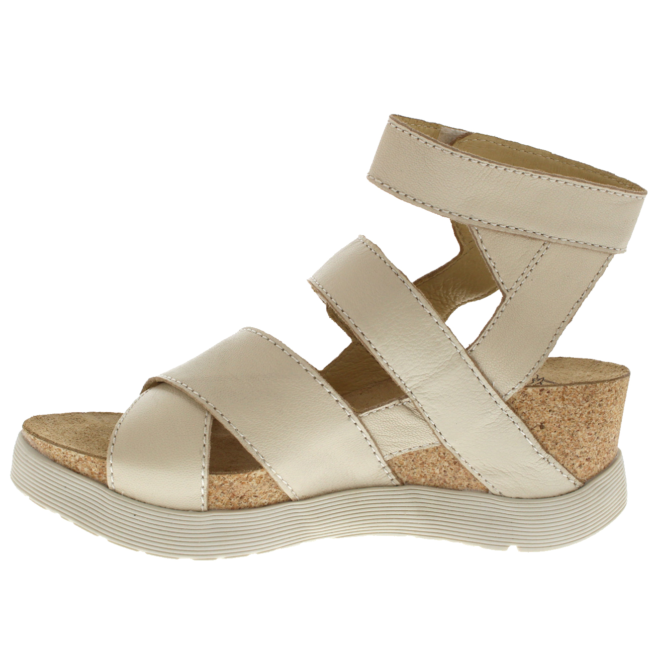 Womens-Fly-London-Wedge-Leather-Open-Toe-Summer-Cut-Out-Sandals-US-5-12 thumbnail 15