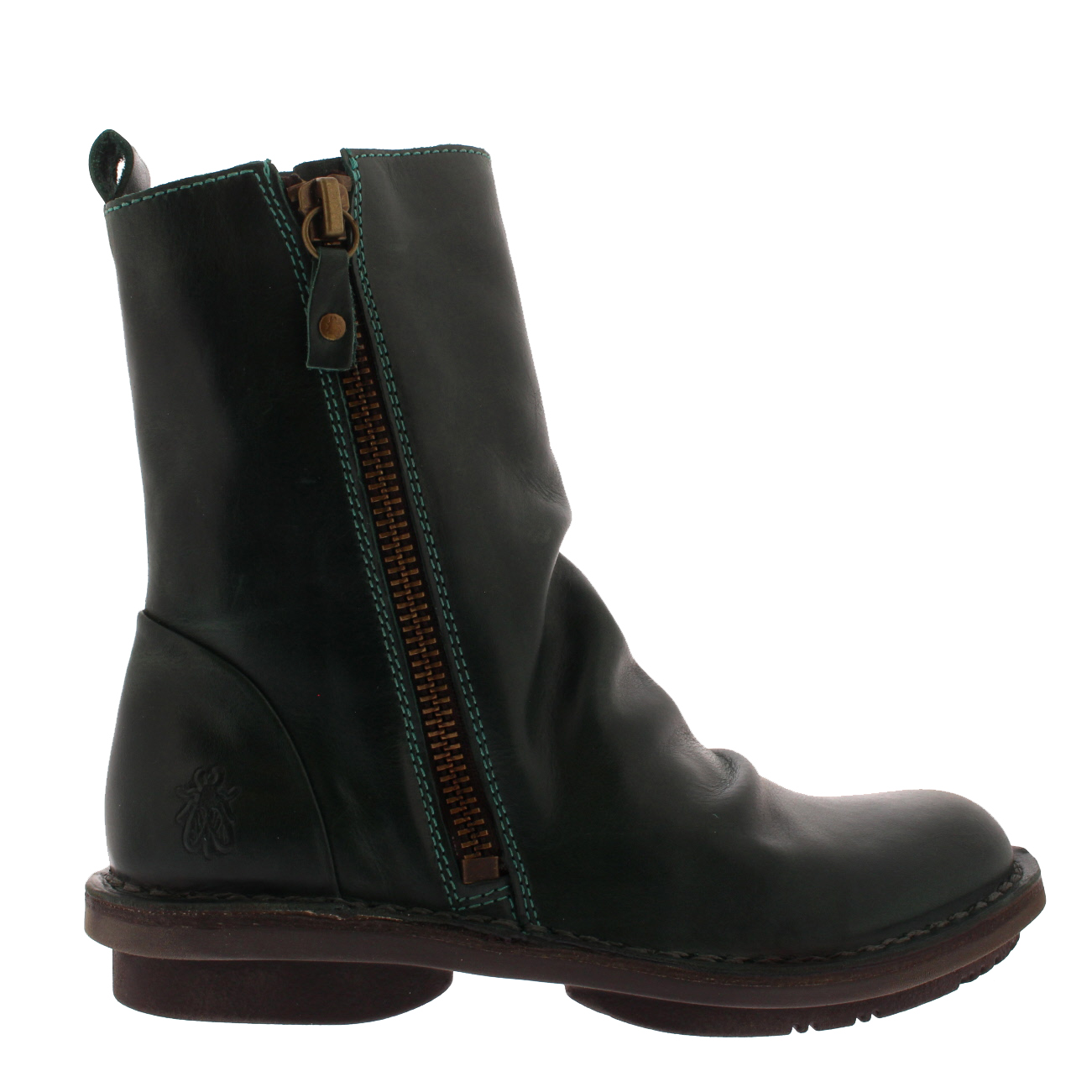 751088e96ff11 Womens Fly London Fade Work Winter Fashion Slouch Leather Ankle ...