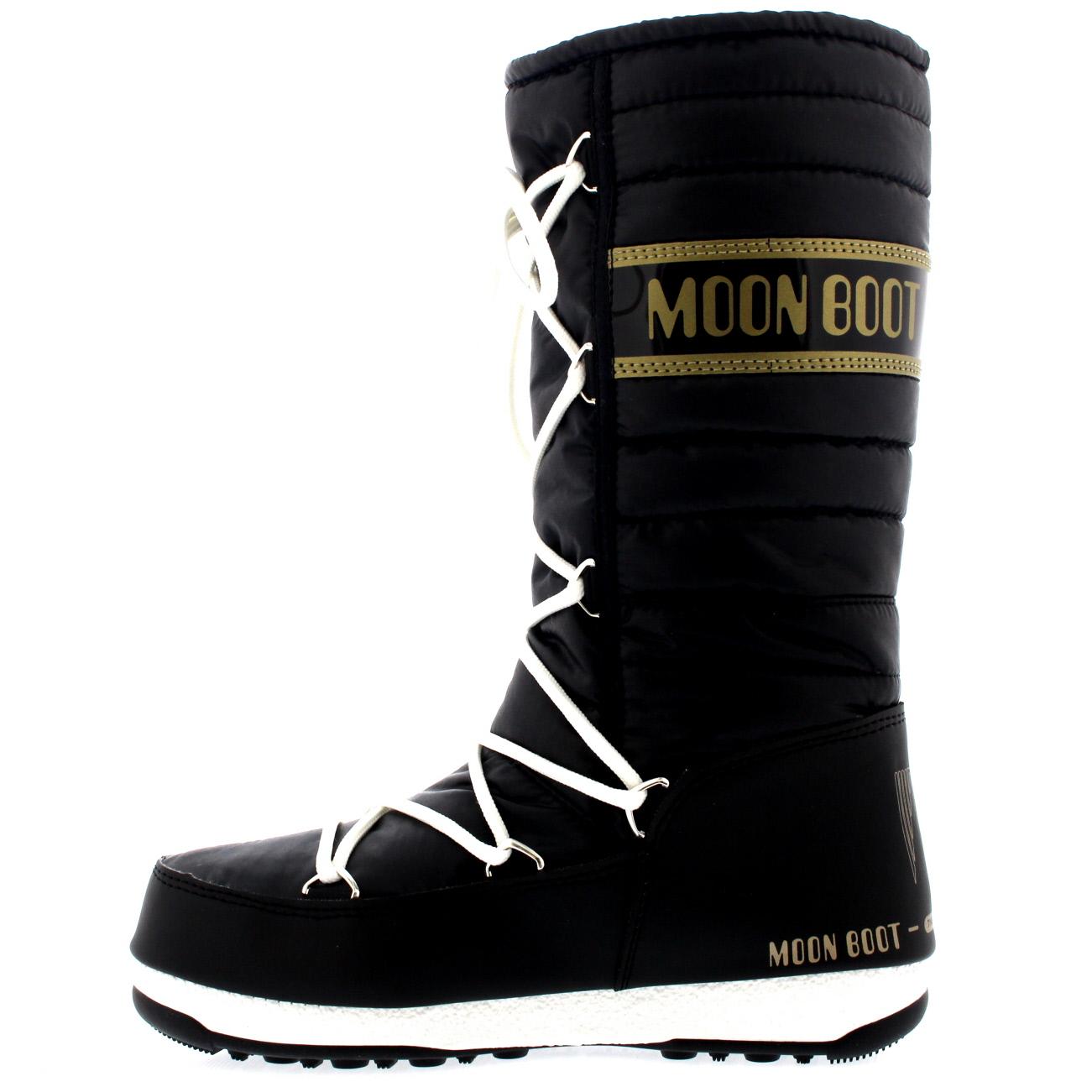 Damenschuhe Tecnica Original Moon Boot Boot Boot Quilted Winter Snow Mid Calf Stiefel US 5.5-10 c87c8d