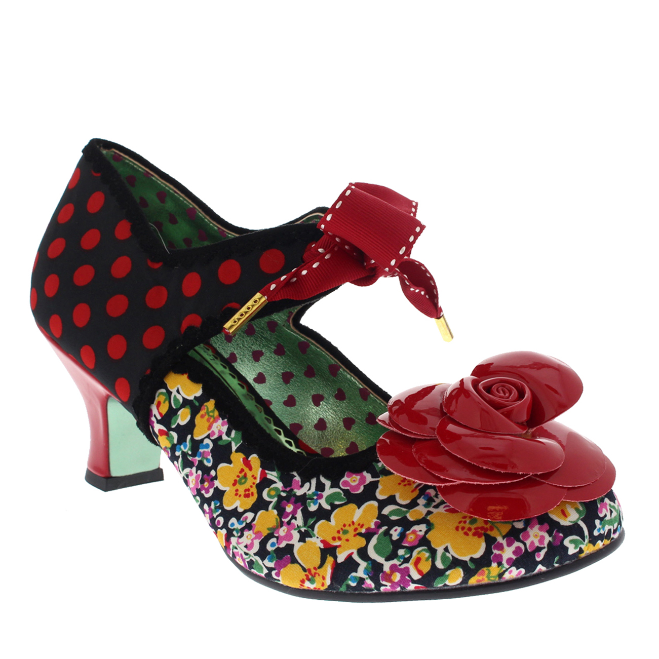 Damenschuhe Poetic Licence Summer Sands Polka Dot Court 5.5-11.5 Schuhes Kitten Heel US 5.5-11.5 Court 970d69